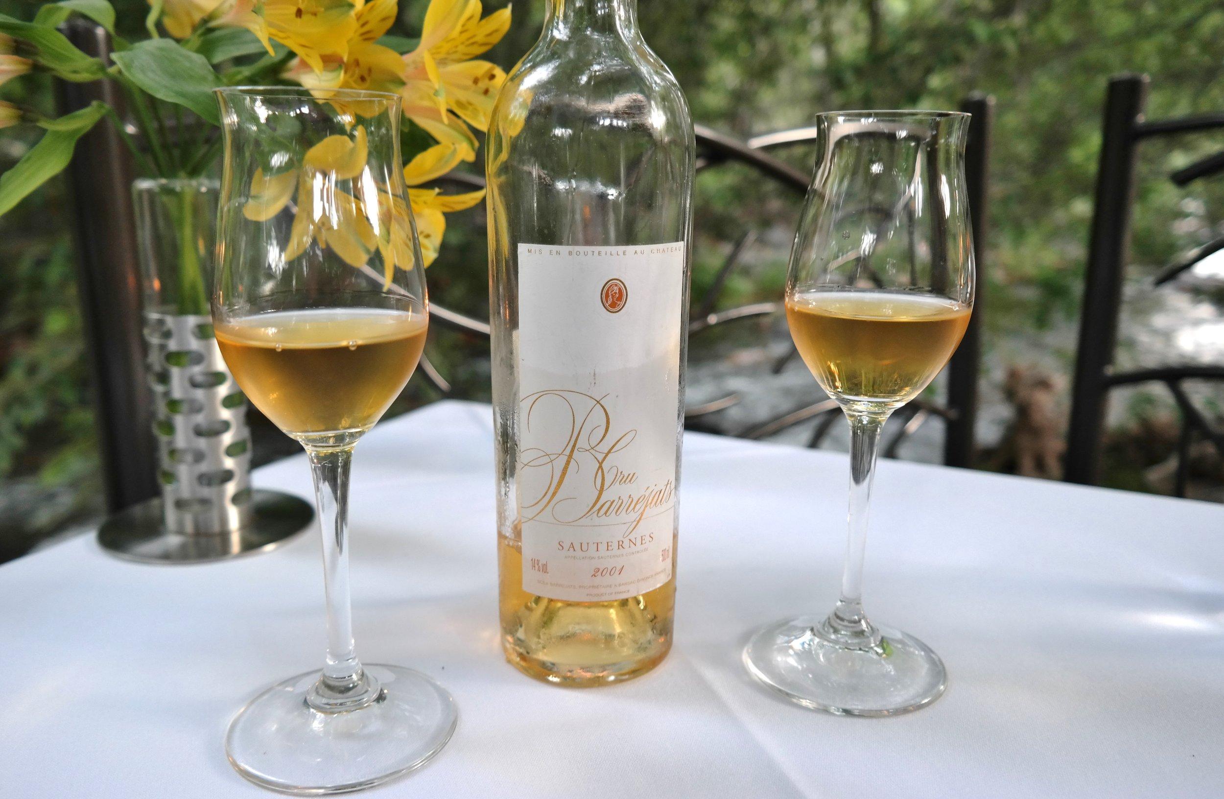 Sauternes wine pairing