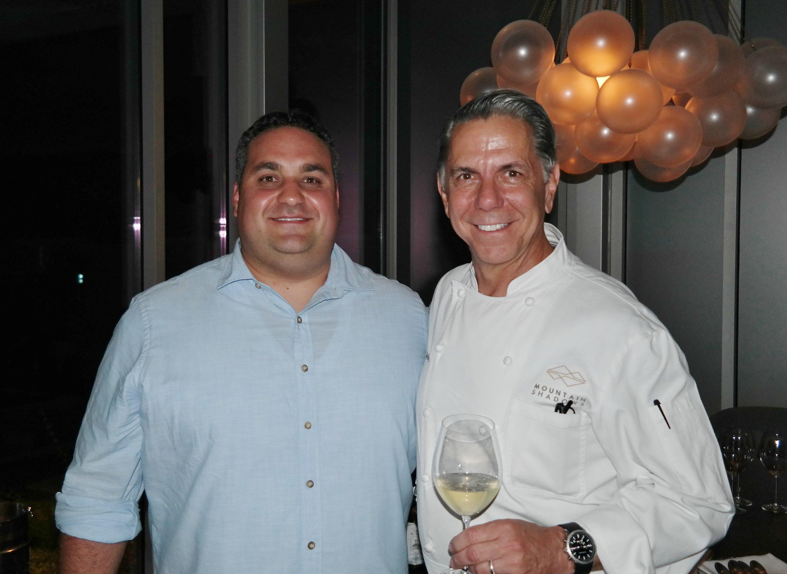 Jason Raducha and Chef Charles Wiley