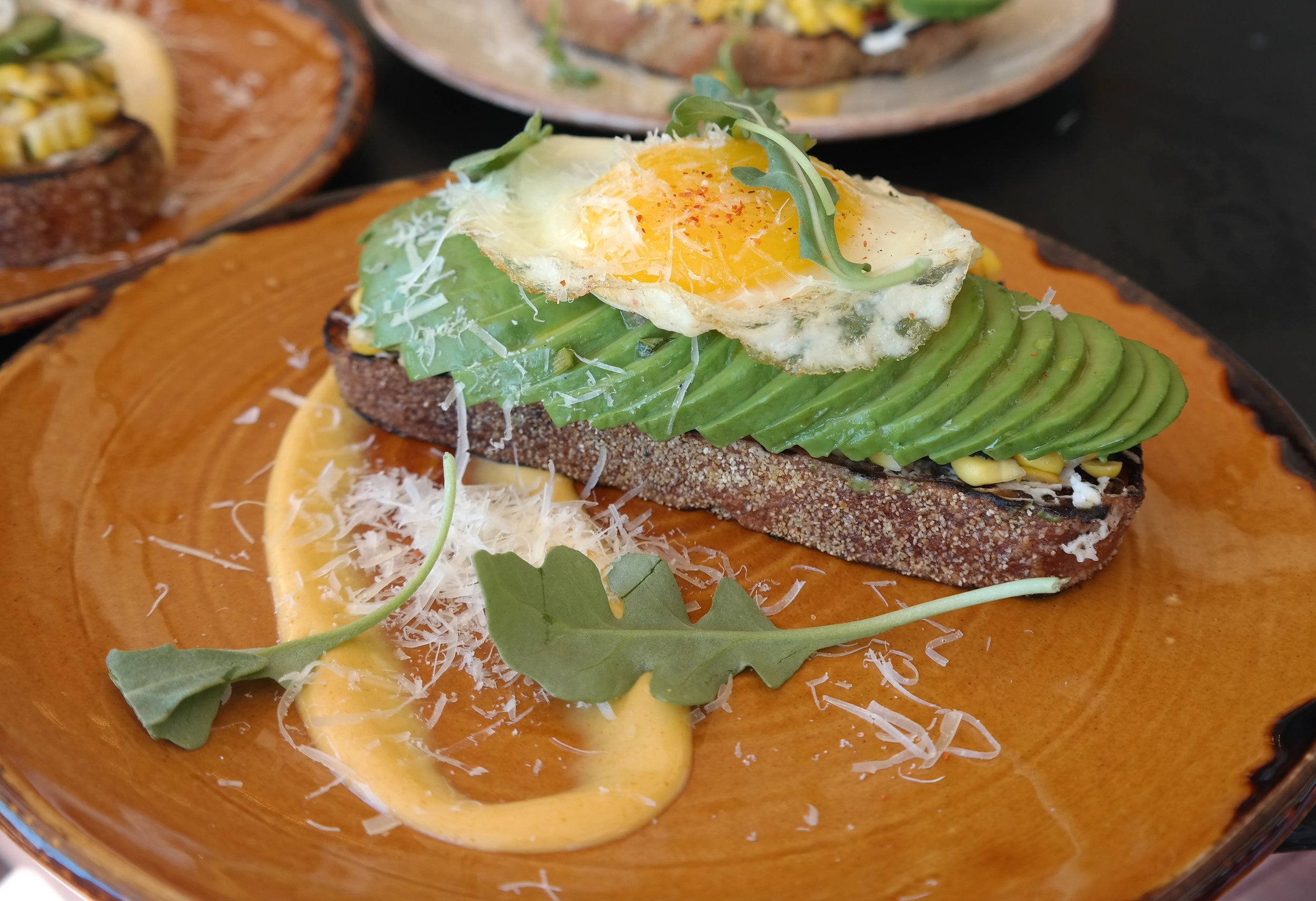 Avocado toast Toro brunch Scottsdale