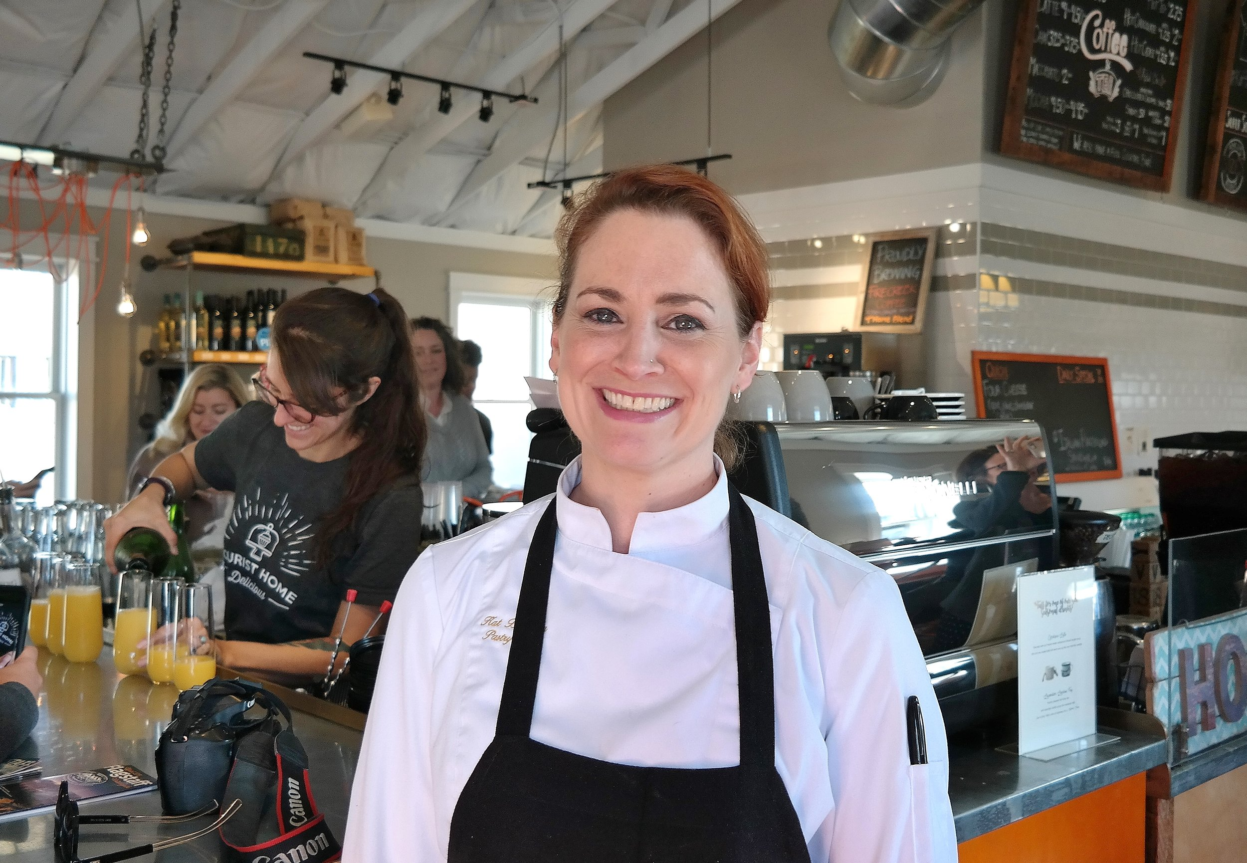 Chef Kat of Tourist Home Cafe