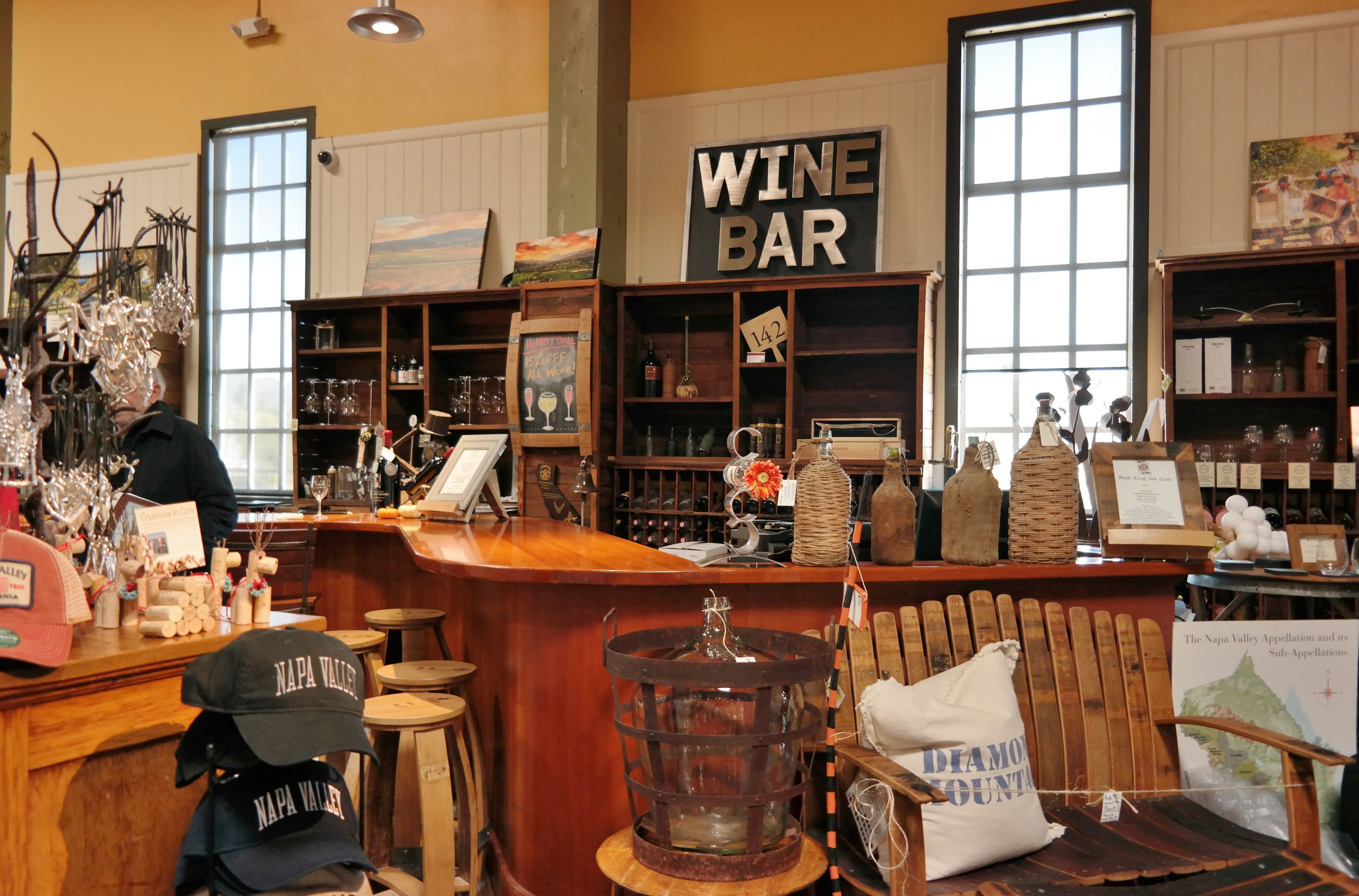Wine Bar Napa General Store