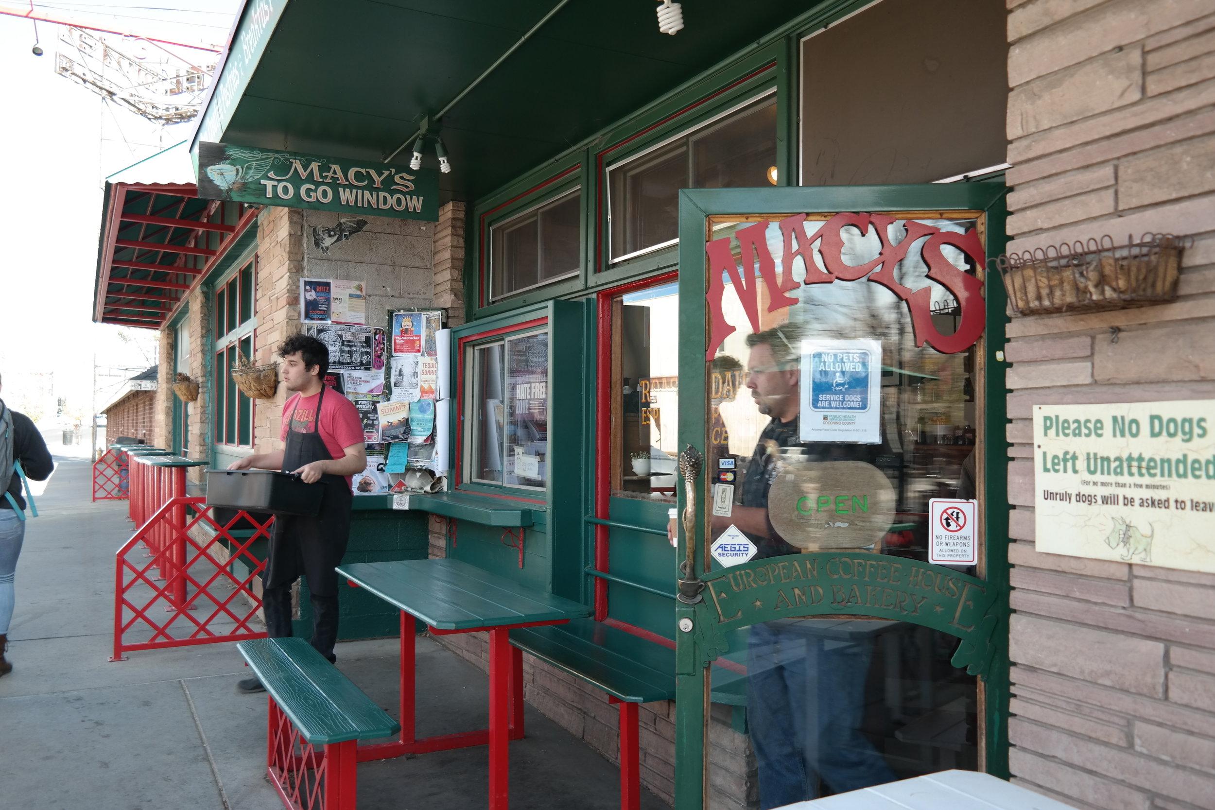 Macy's European Coffeehouse