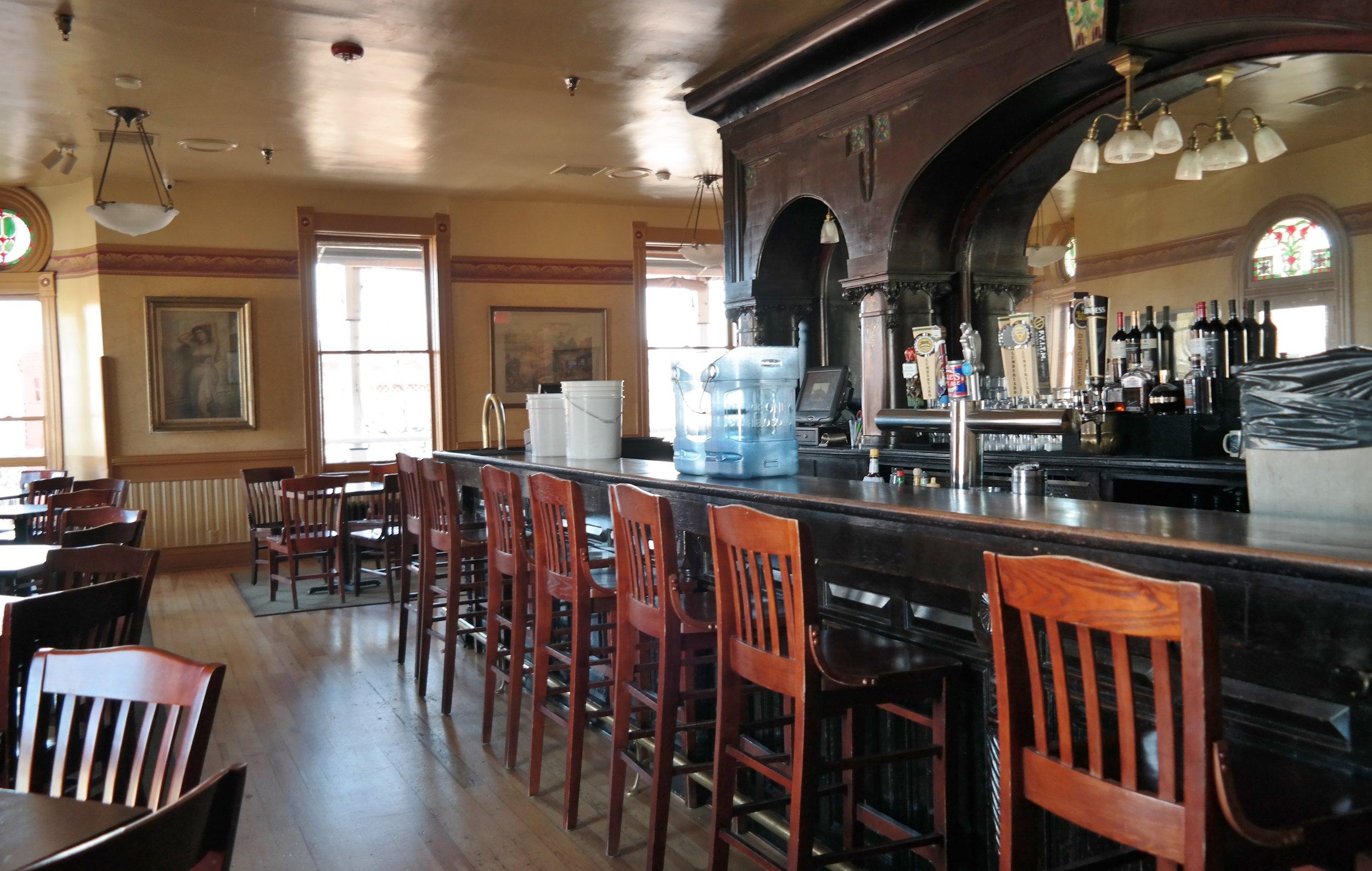 Zane Grey Bar at The Weatherford