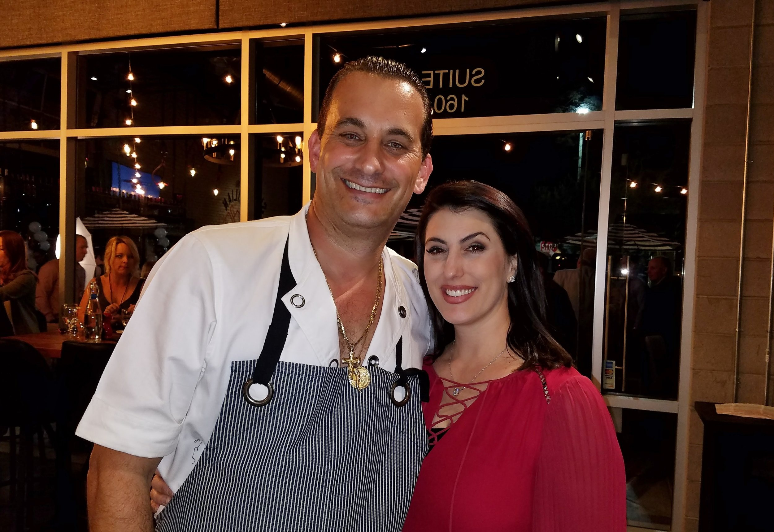 Chef-owner Joey Maggiore and his wife Cristina