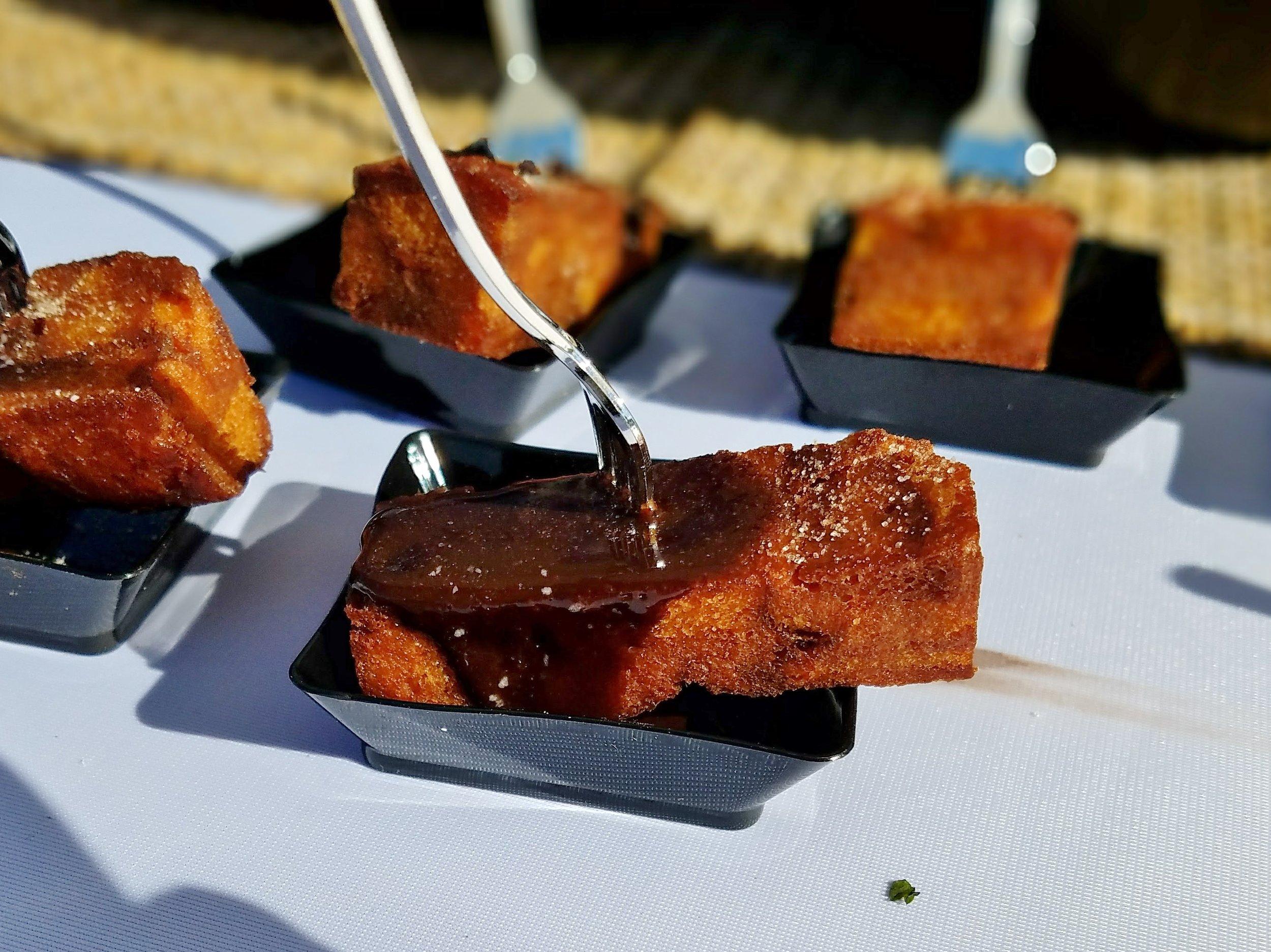 French toast churros