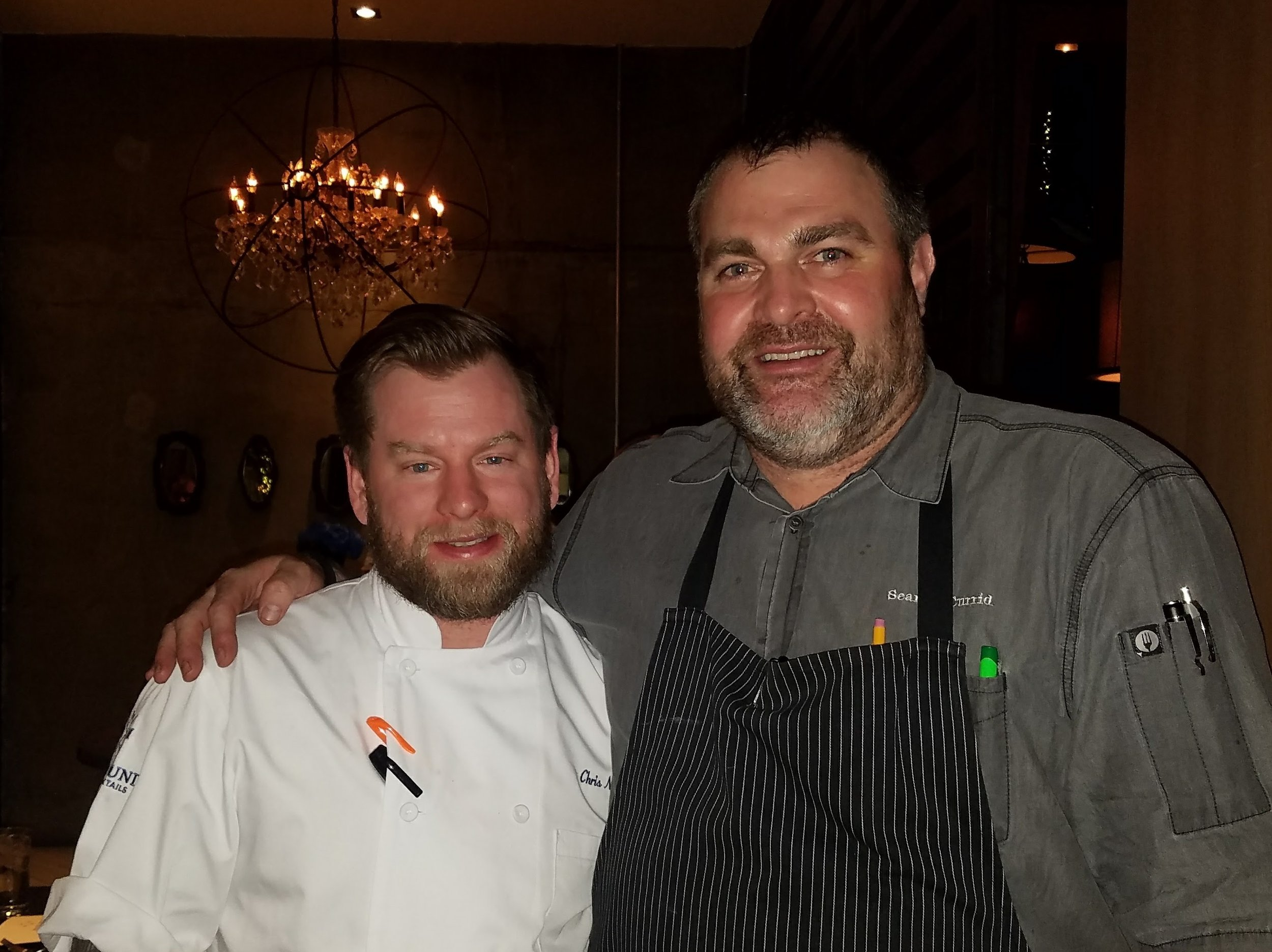 Chris Neff and Executive Chef Sean Currid