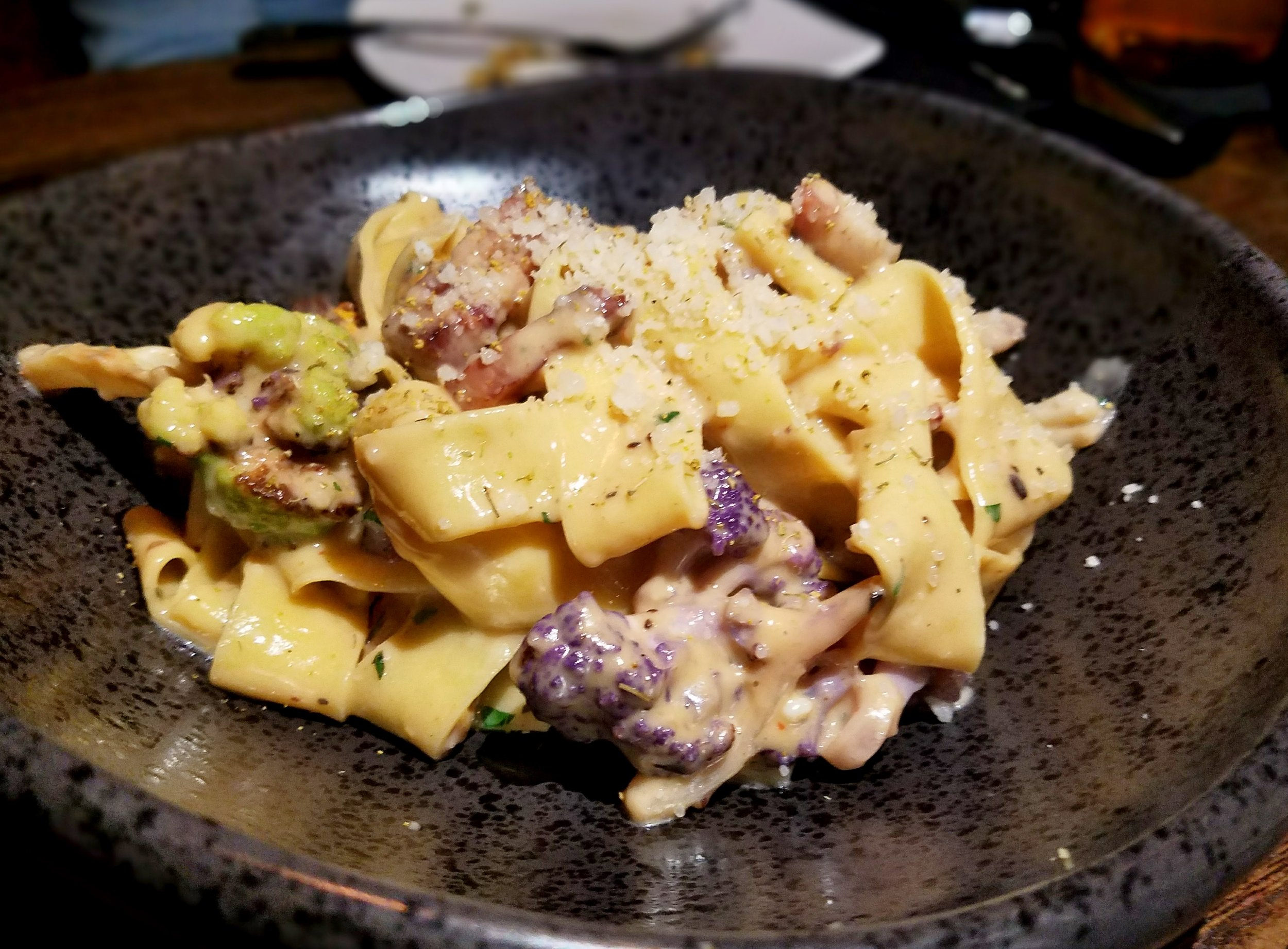 Cauliflower carbonara