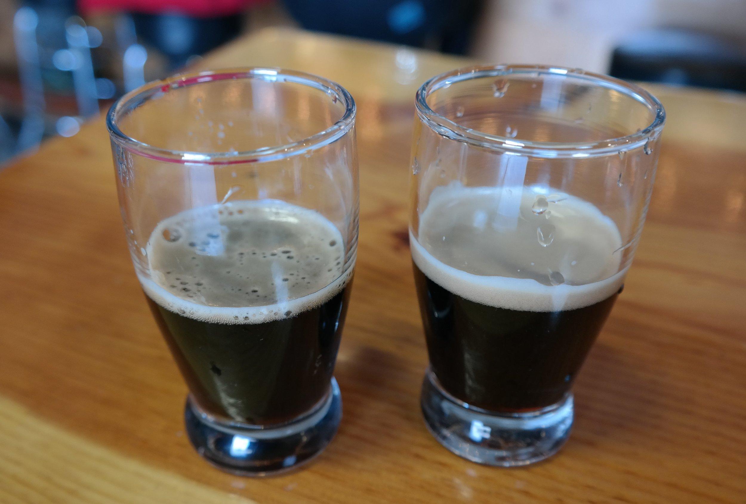 Pan-American Stout: carbonation versus nitro