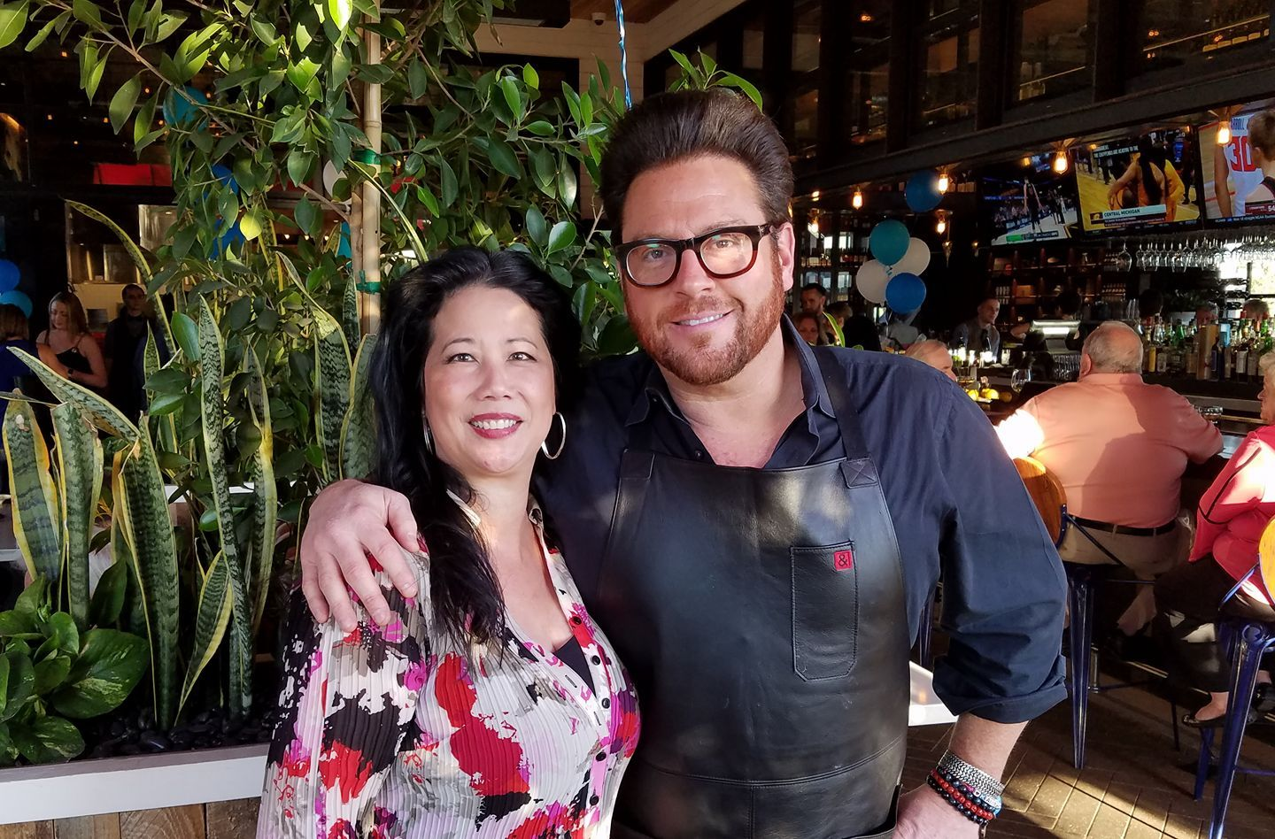 With chef, restauranteur and Foot Network judge and host Scott Conant