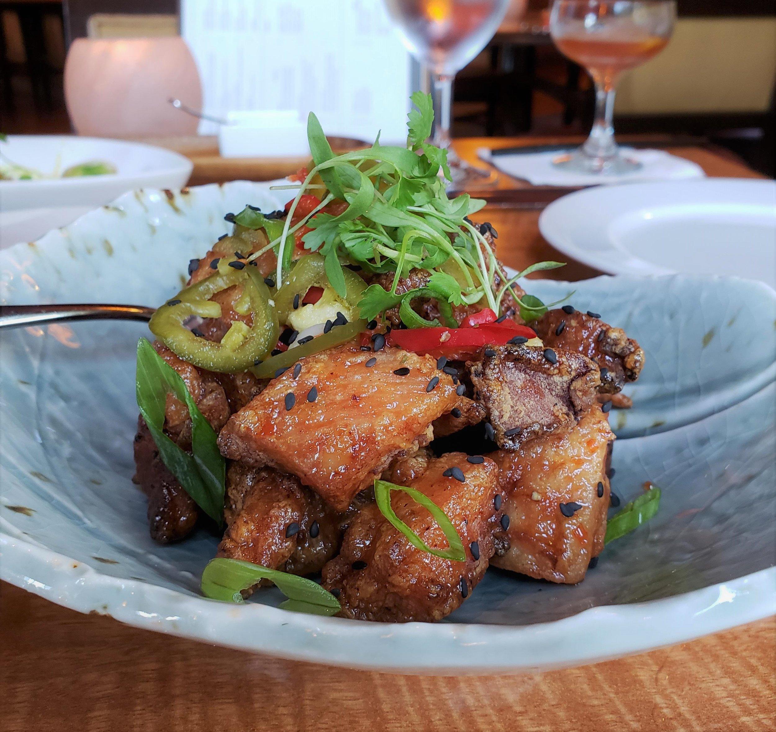 Peruvian fried chicken