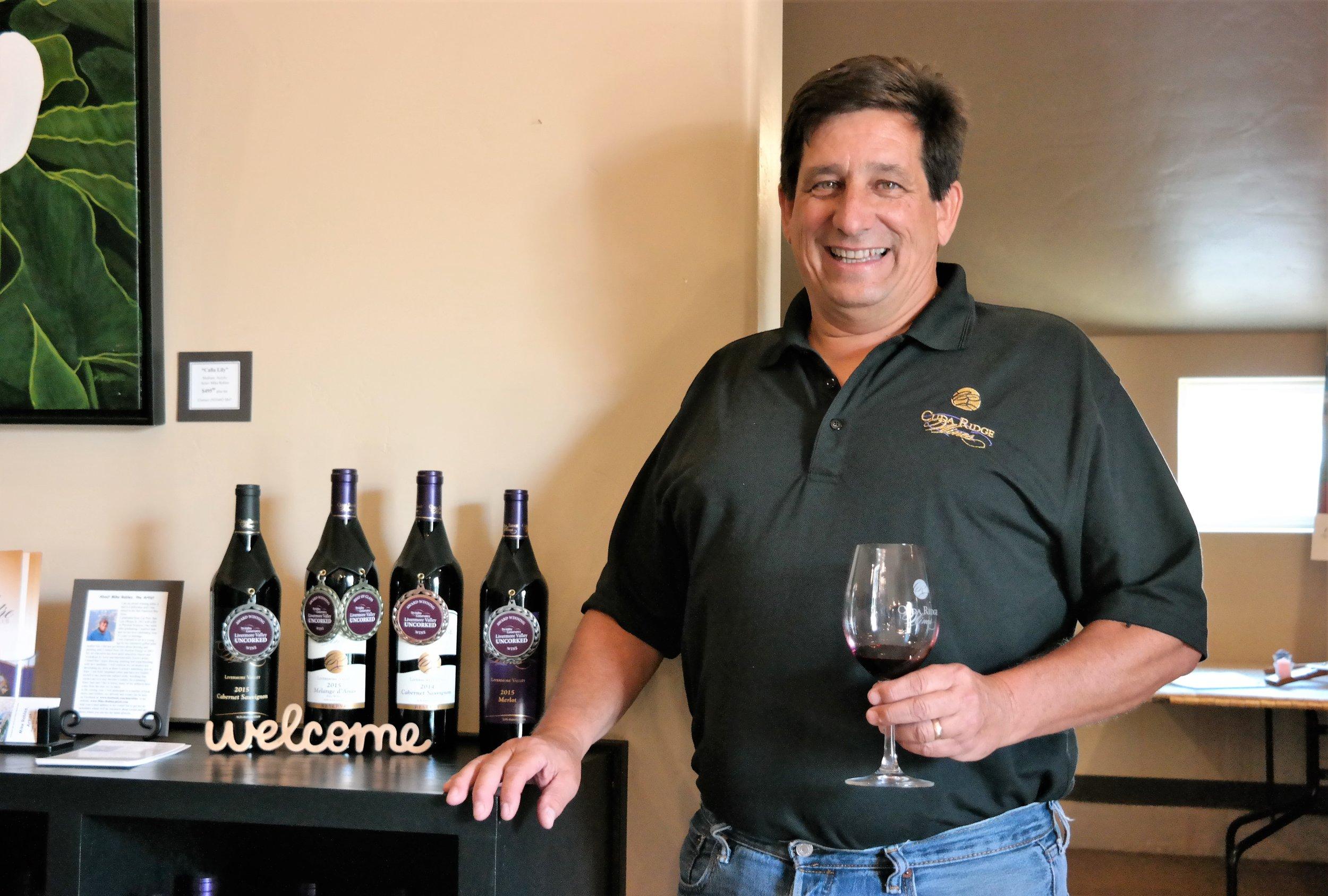 Cuda Ridge Winery Larry Dino