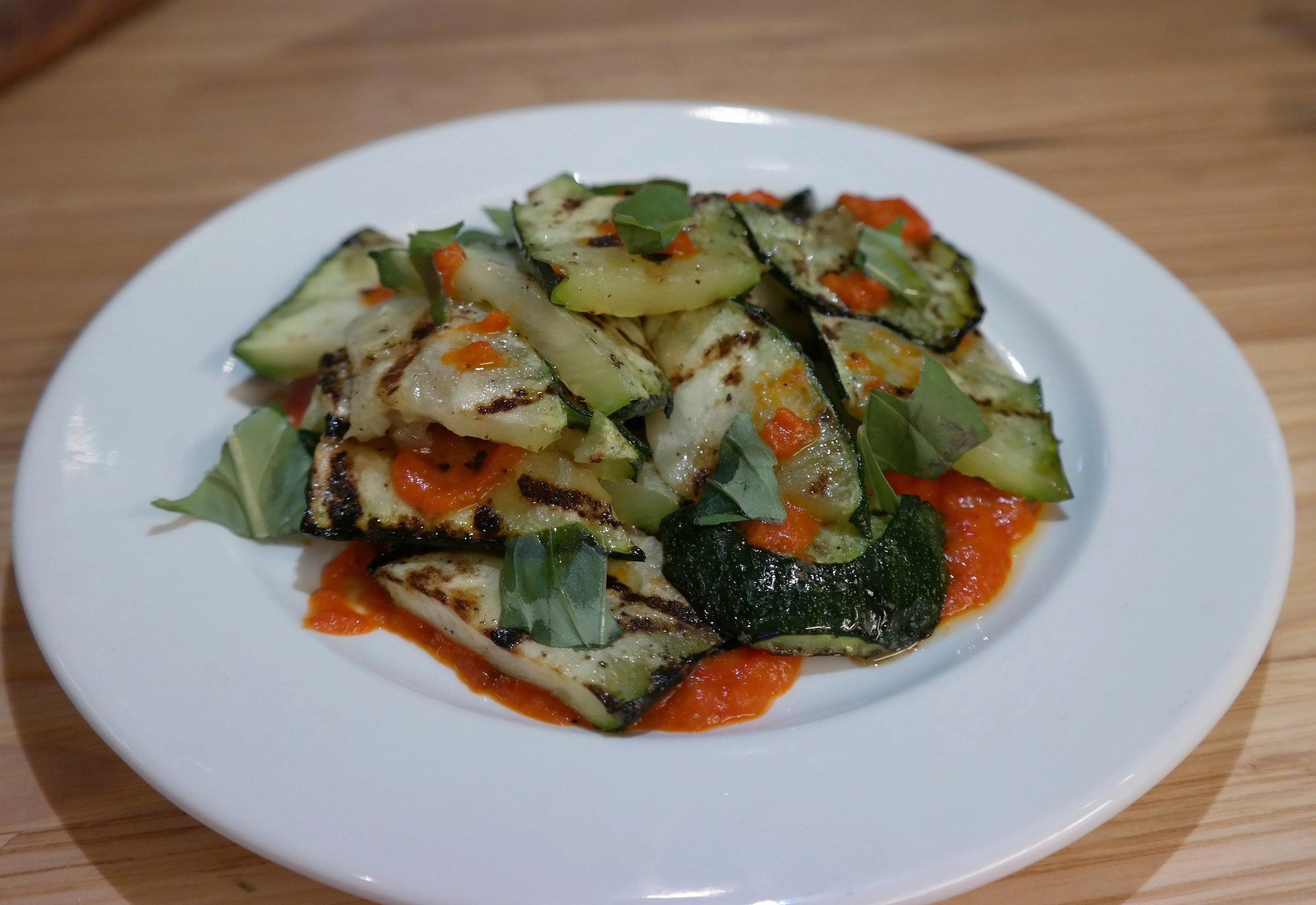 zucchini harissa