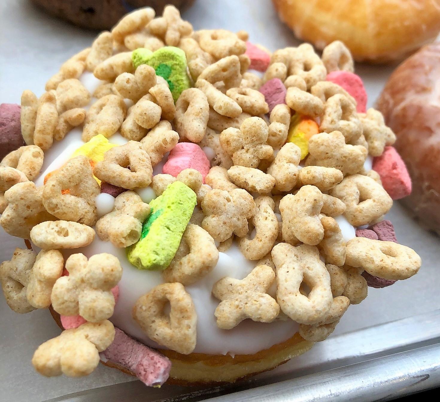 Alien donuts