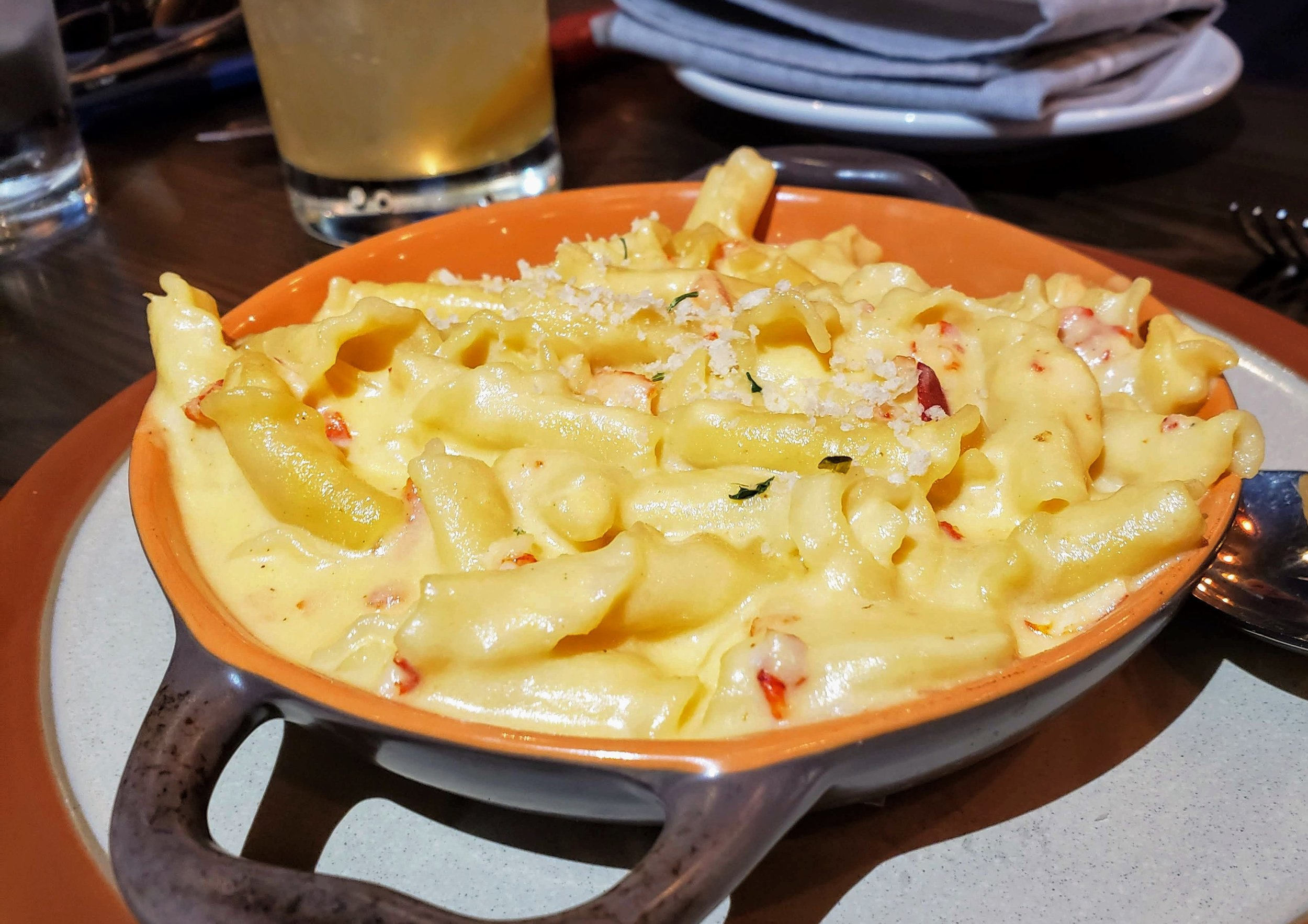 Lobster mac and cheese ( Christina Barrueta)