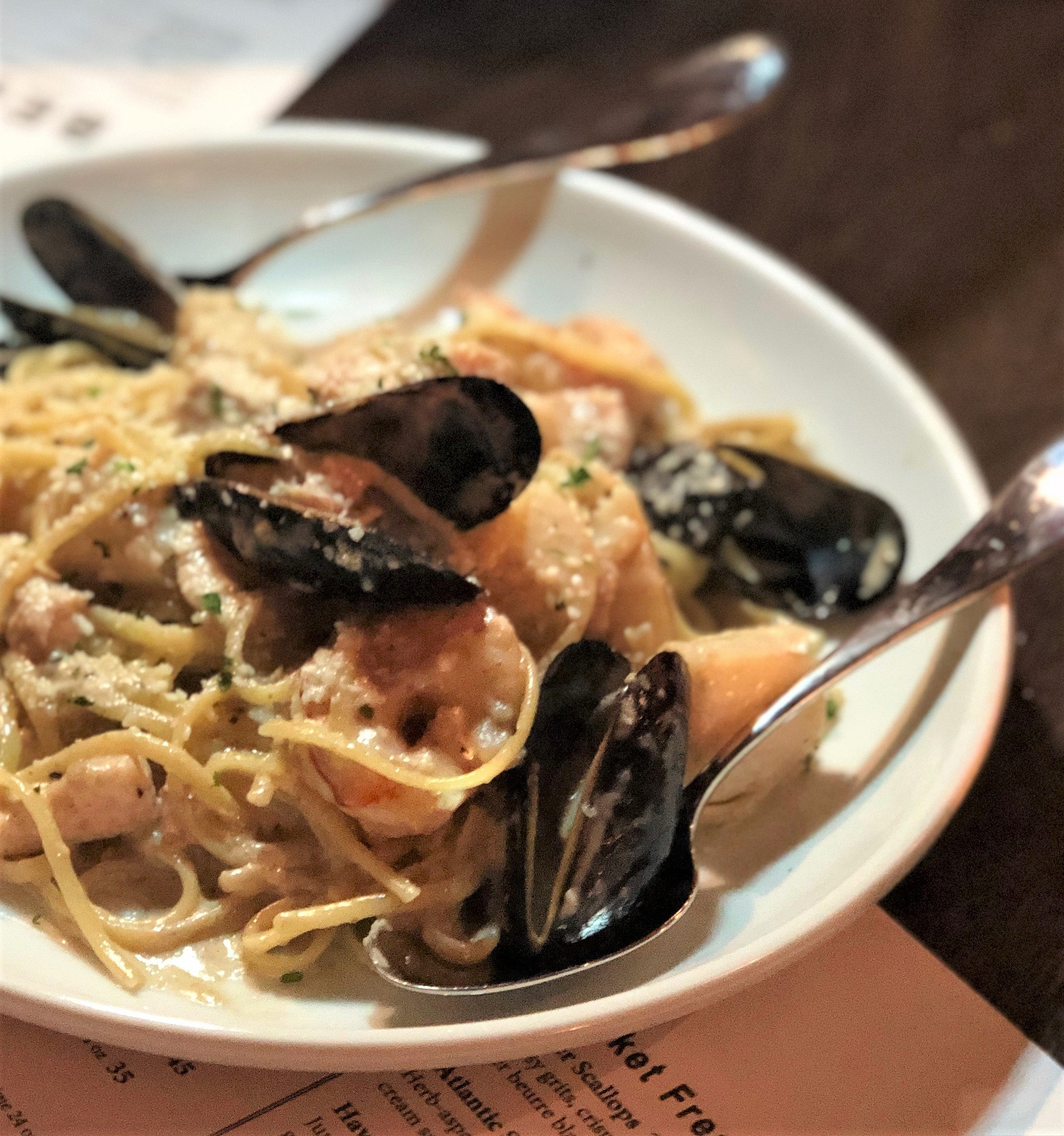Seafood pasta  (Molly Smith)
