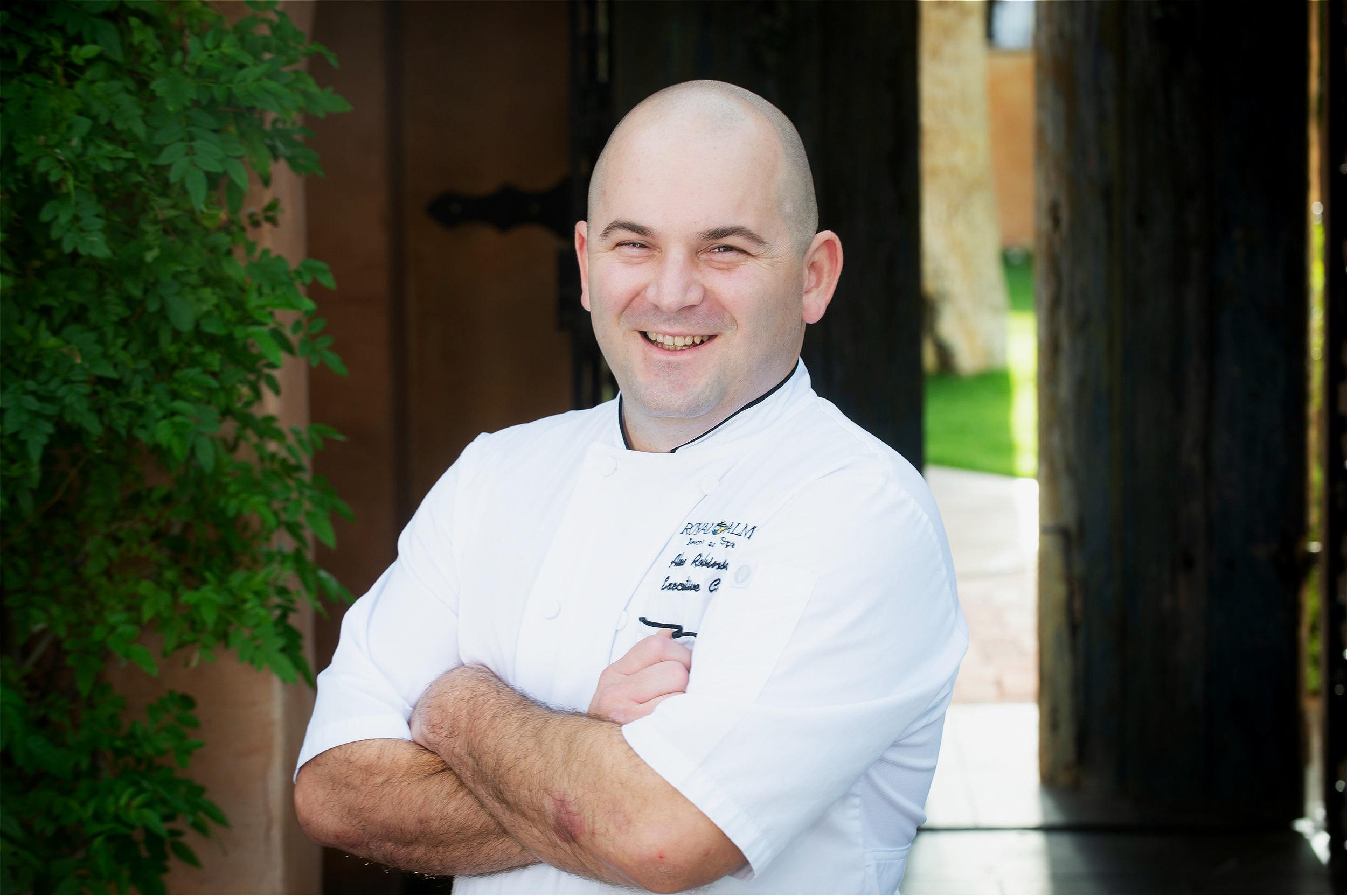 Chef Alex Robinson