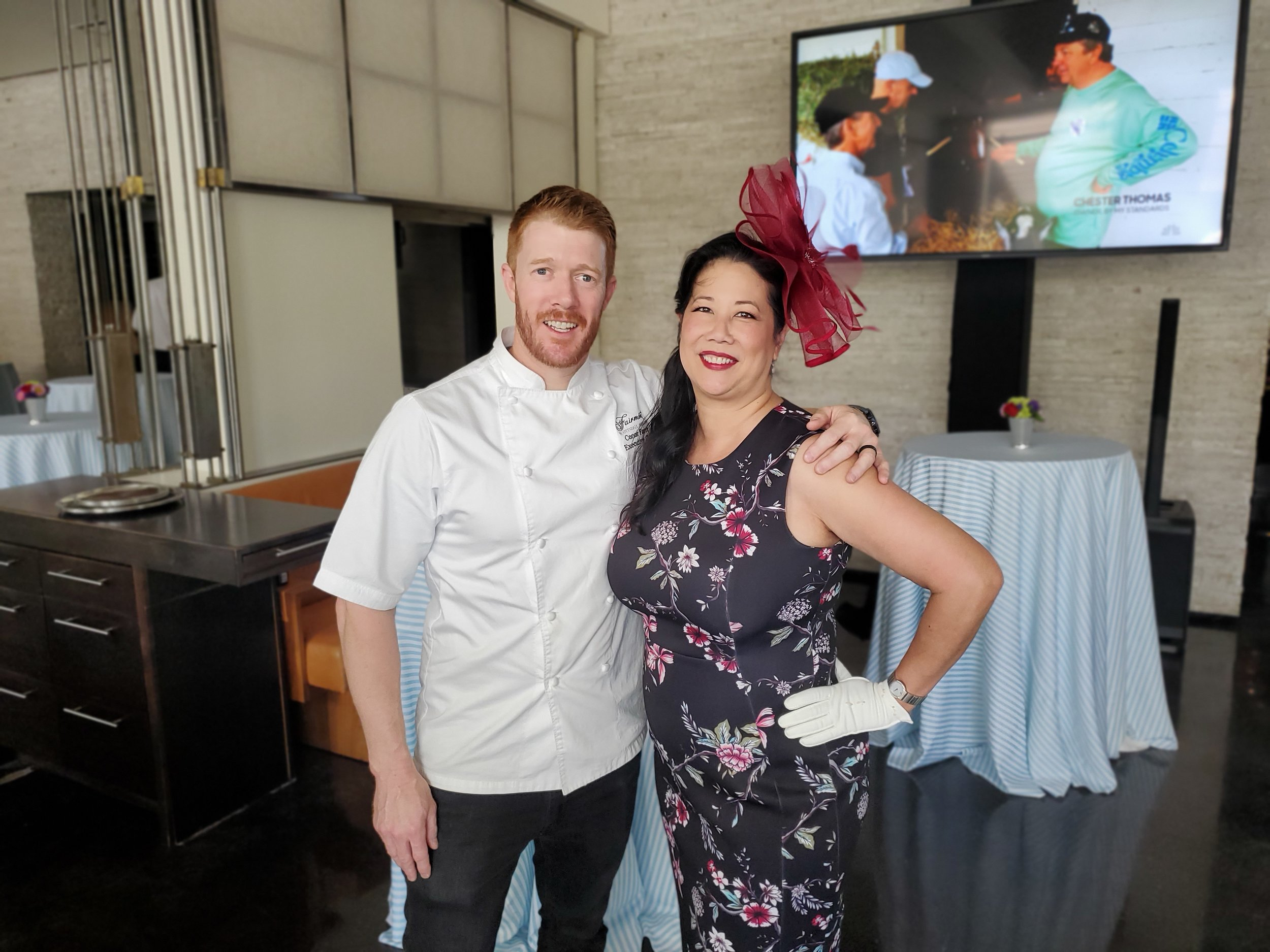 Conor Favre, executive chef of the Scottsdale Fairmont Princess