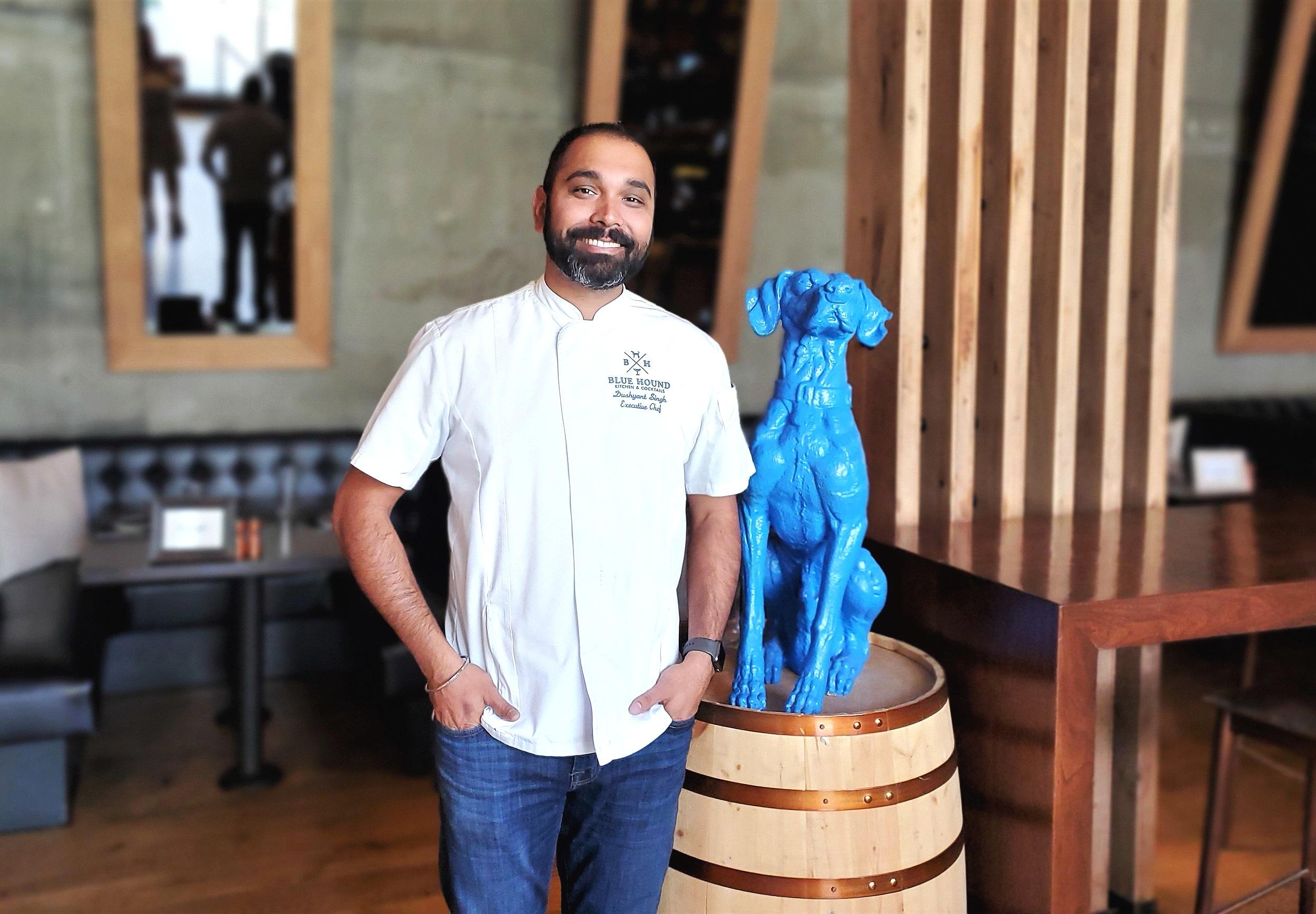 Chef+Dushyant+Singh+Blue+Hound
