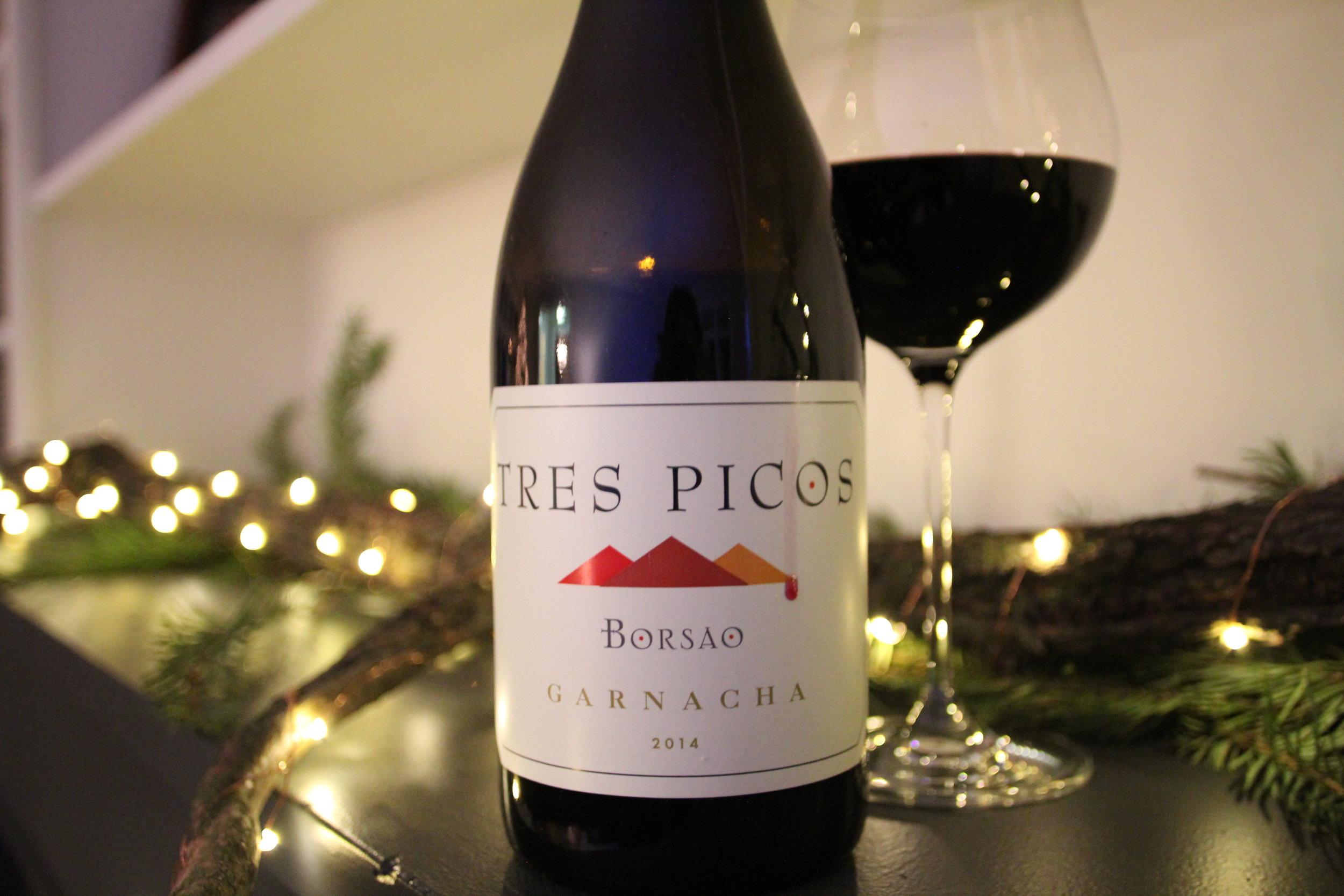 Borsao Tres Picos Garnacha 2014: $17
