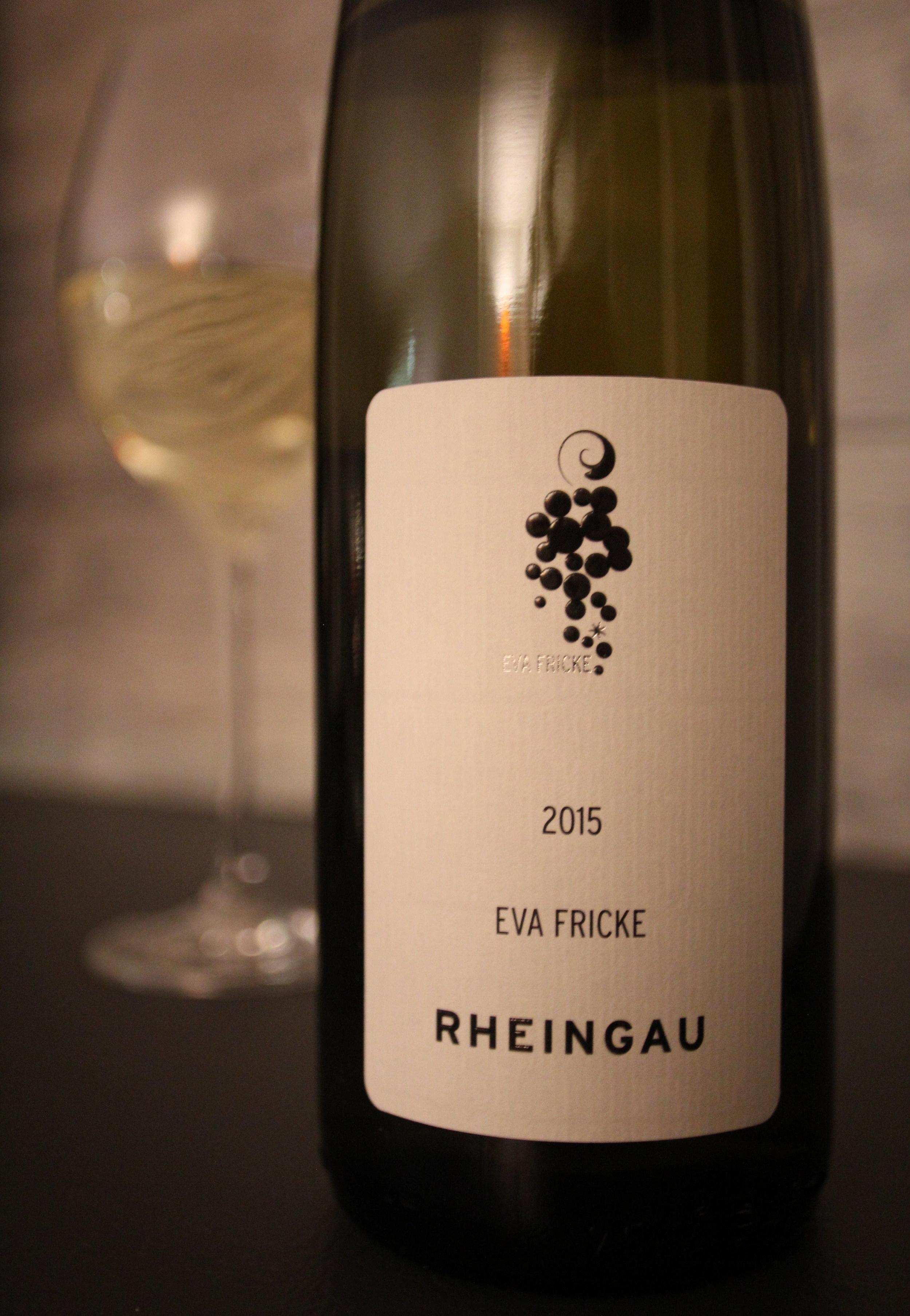 Eva Fricke Rheingau Estate Riesling 2015: $19.99