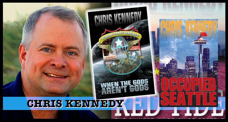 Chris Kennedy  — Prolific Science Fiction author, including many military SF titles. Also a publisher, so talk to this man if you want to get a book published!
