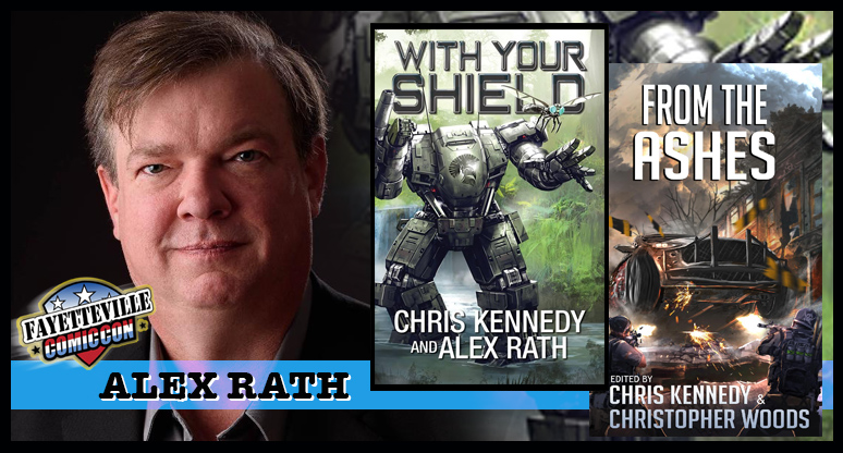 Alex Rath  — Another top SF author, Alex will be leading at least one panel on science fiction at the con.
