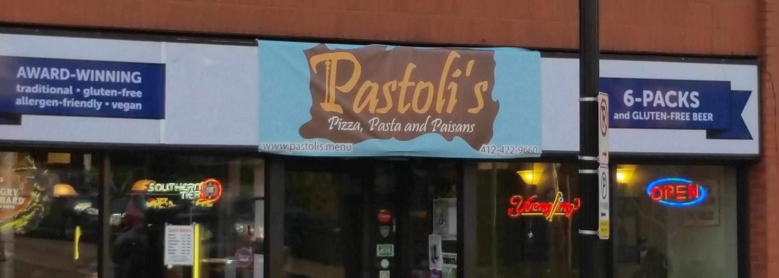 Pastoli's Pizza Pasta & Paisans!