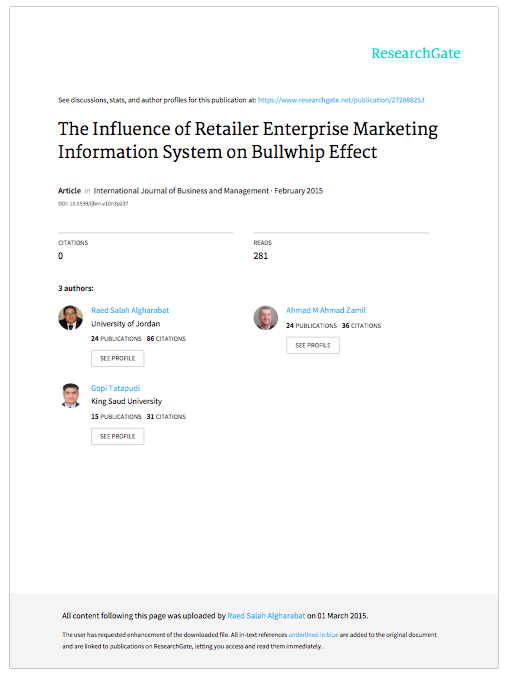 The Influence of Retailer Enterprise Marketing Information System on Bullwhip Effect.png