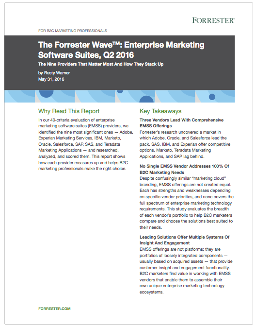The Forester Wave - Enterprise Marketing Software Suiotes Q2 2016.png