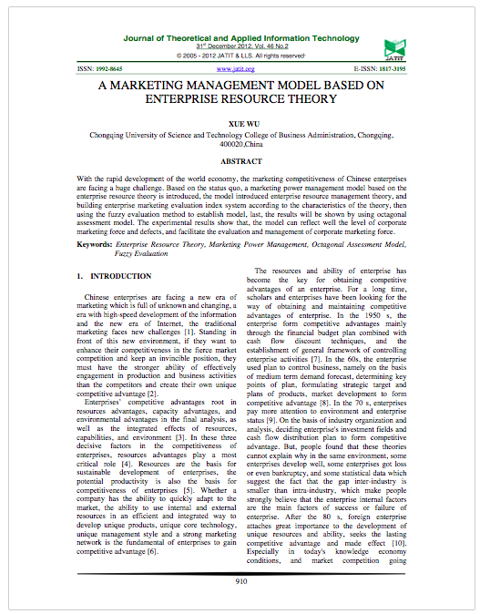 A Marketing Management Model Based on Enterprise Resource Theory.png