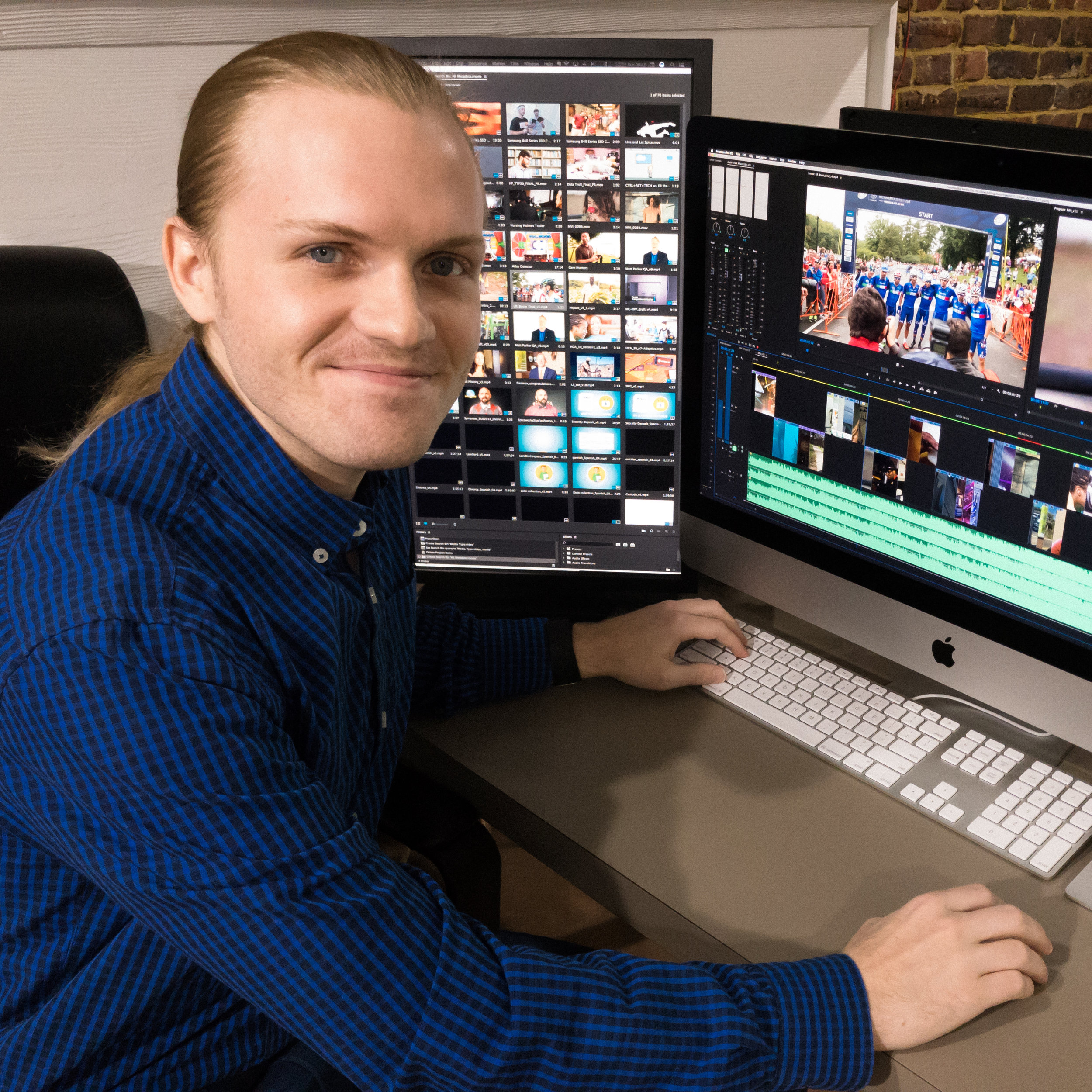 Micah Vanderlinden - Video Editor, Motion Designer