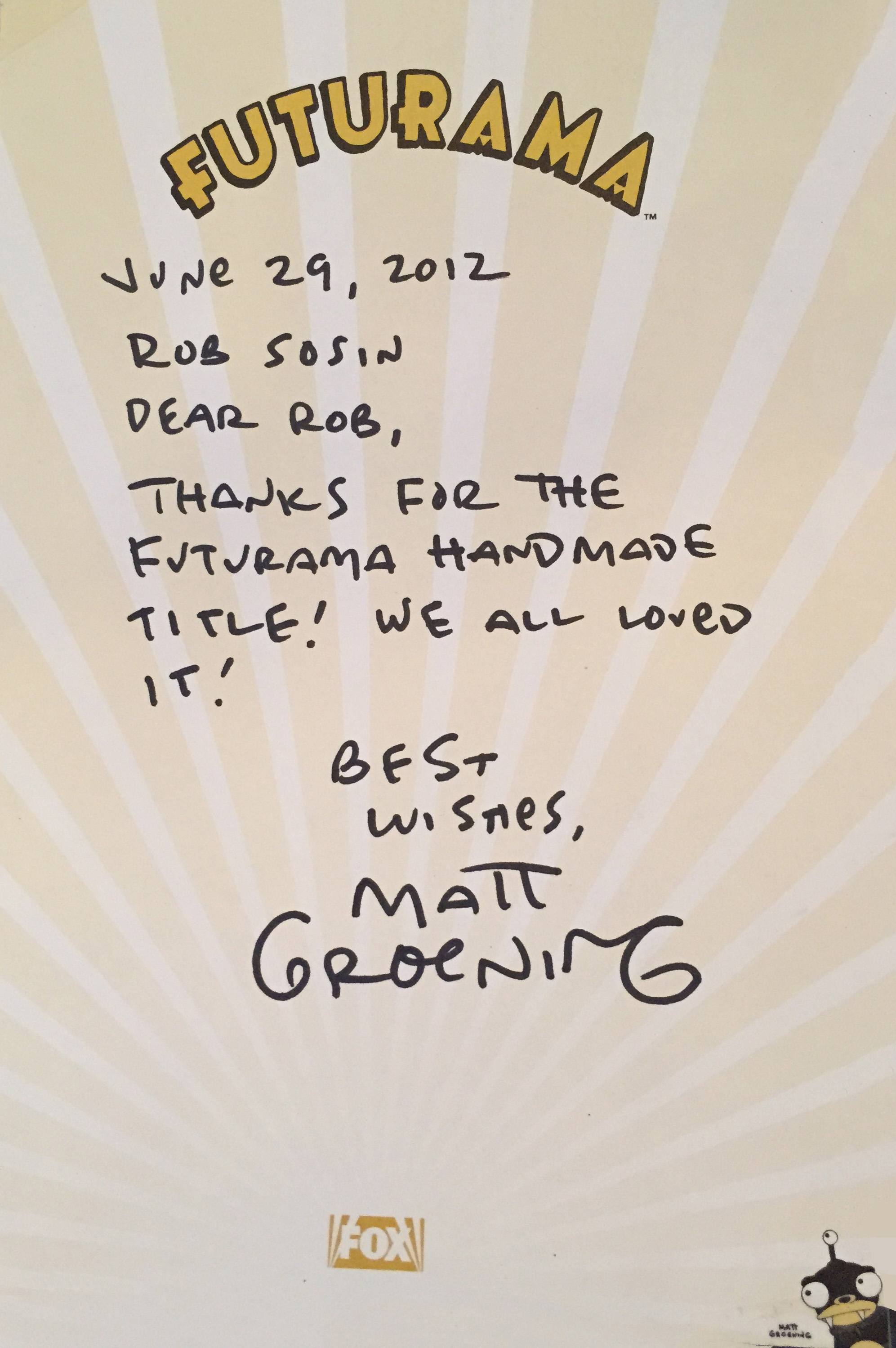 GroeningFuturamaLetter.jpg