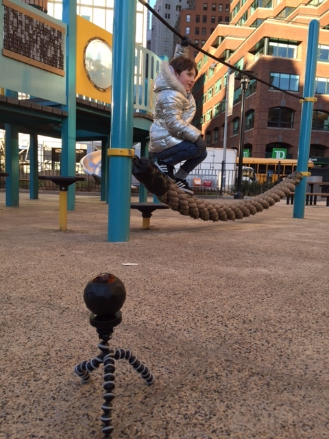Zephyr and the 360 camera