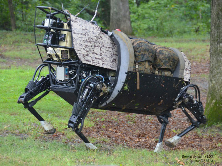 fig.13 -  Boston Dynamics Robotics.