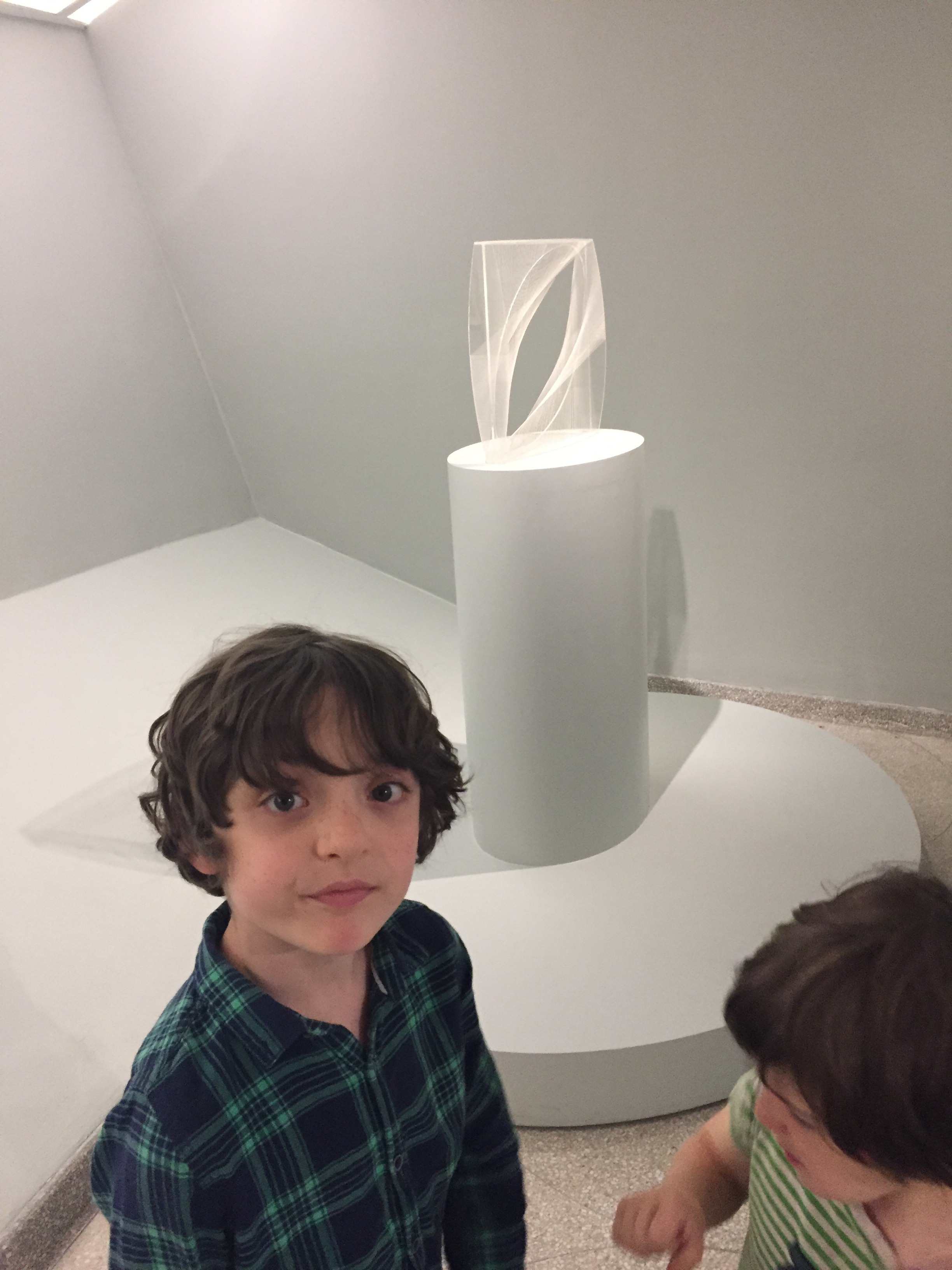 """Gabo constructivism I found to be pretty cool. Zephyr said it made him happy, and there was an """"oddly satisfying"""" energy around it."""