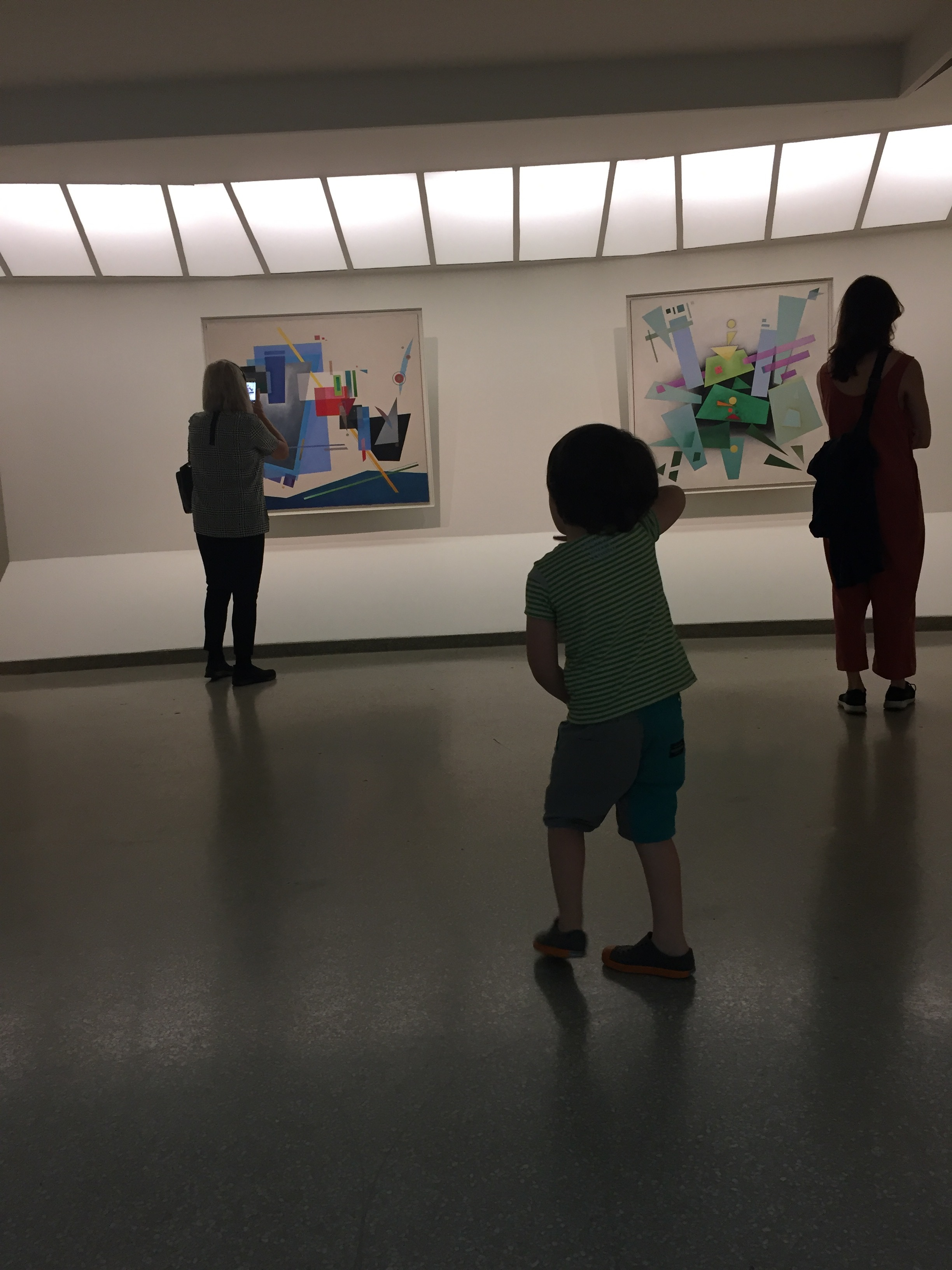 Lyric was kind of dancing to Kandinsky paintings, which was oddly perfect