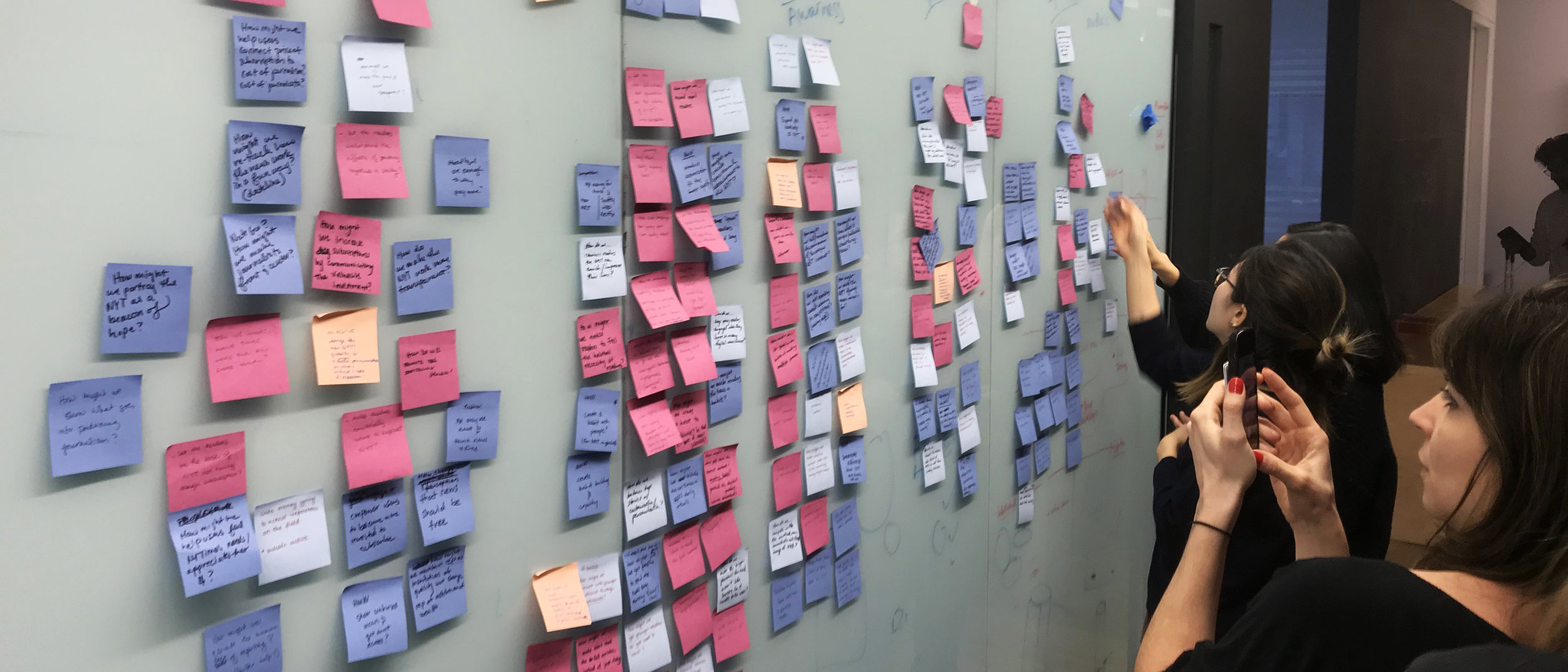 Brainstorming topics on opportunities for improvement