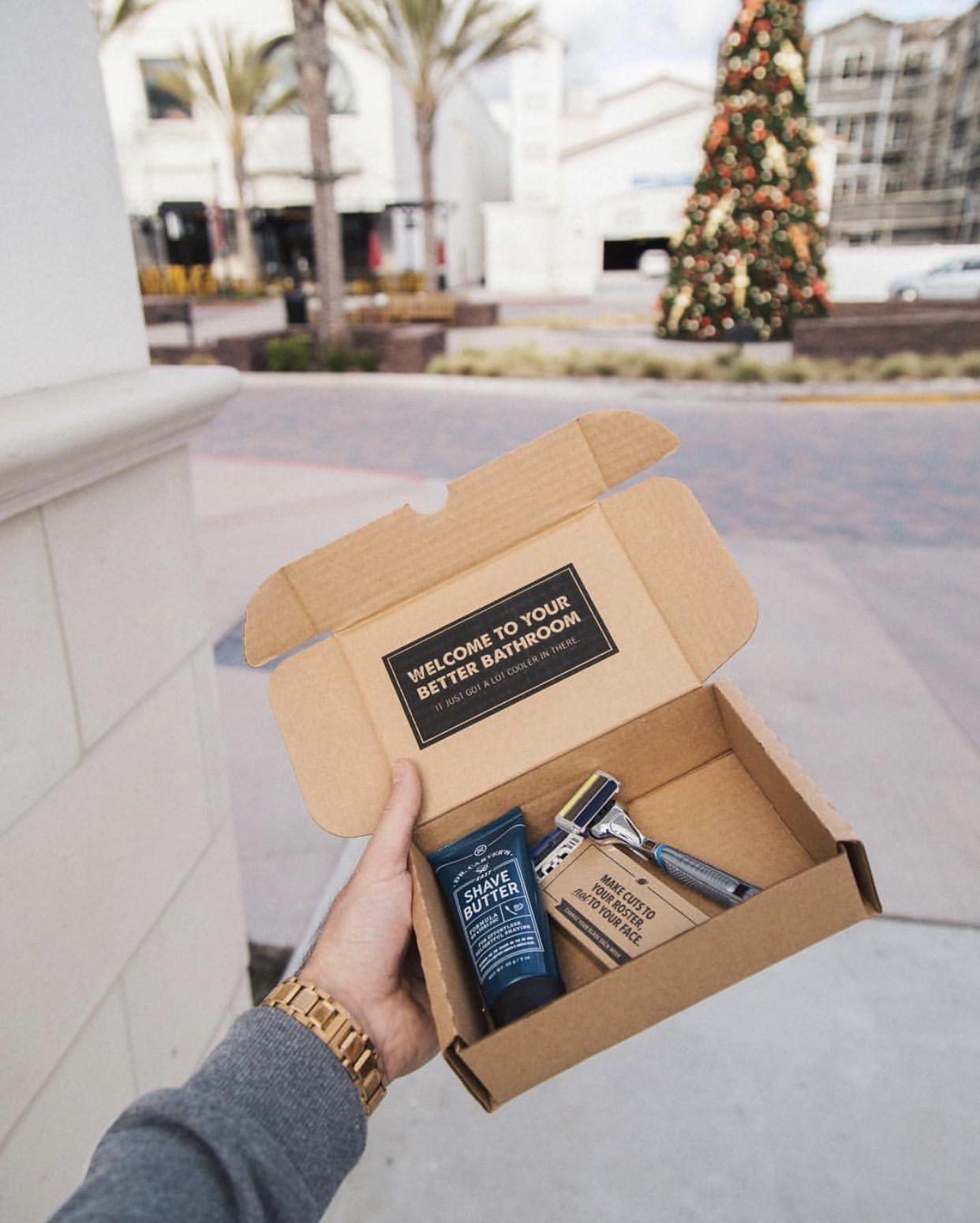 Dollar Shave Club Holiday Campaign