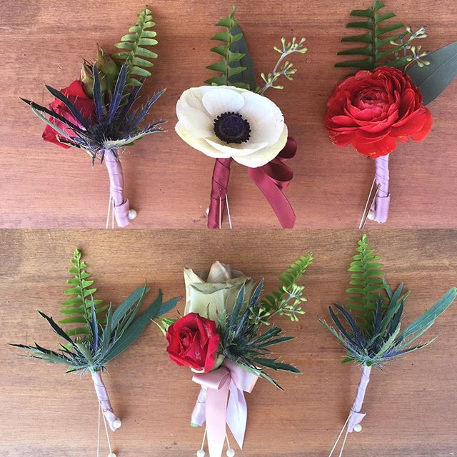 The bouts and corsages. #utahflorist 😍
