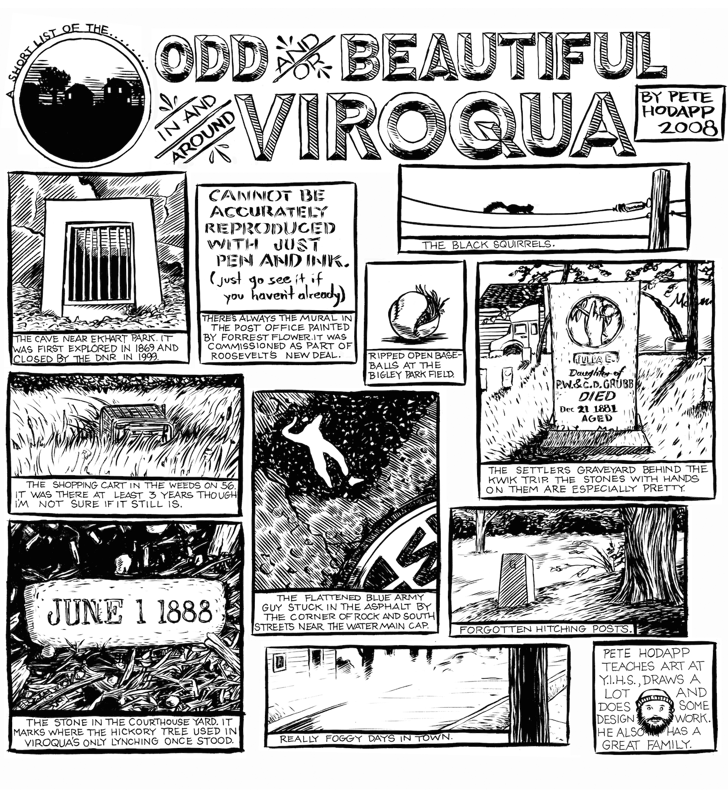One of the first Free Press pieces I did on things I noticed in Viroqua.