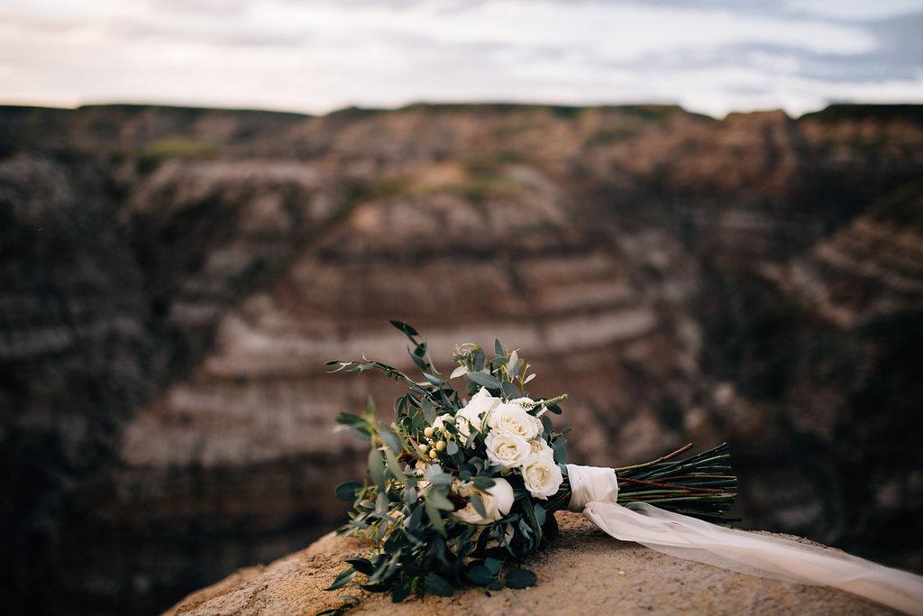 bridal bouquet wedding rustic