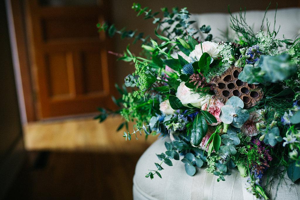 custom wedding bouquet