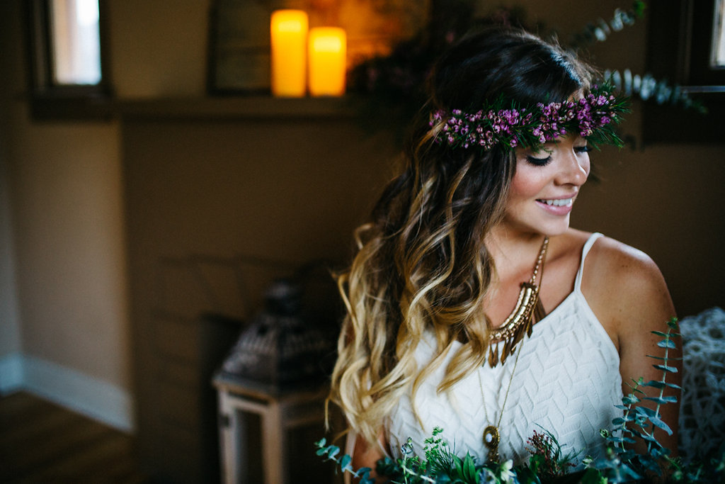 flower crown wreath custom