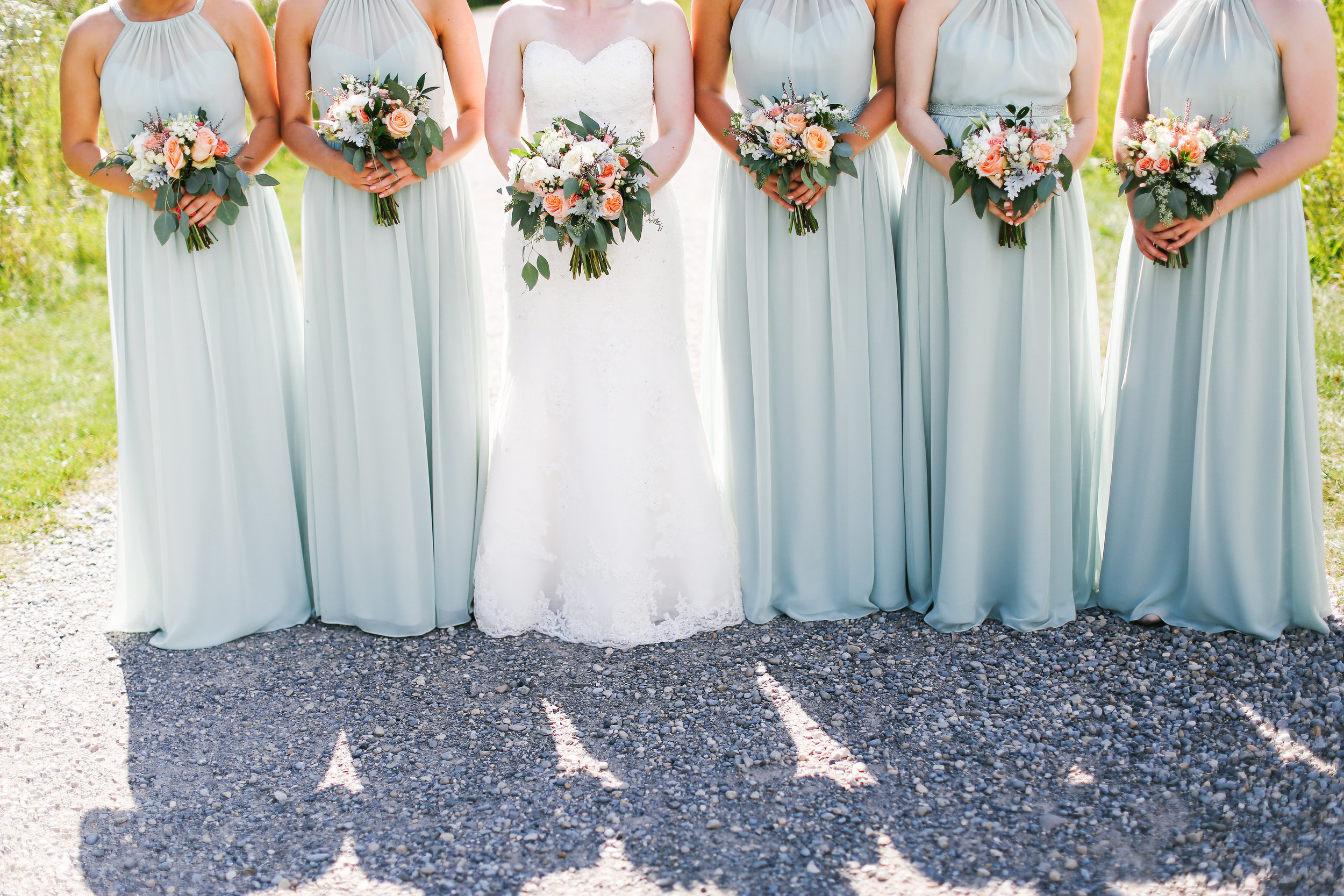 wedding bouquet bridal party