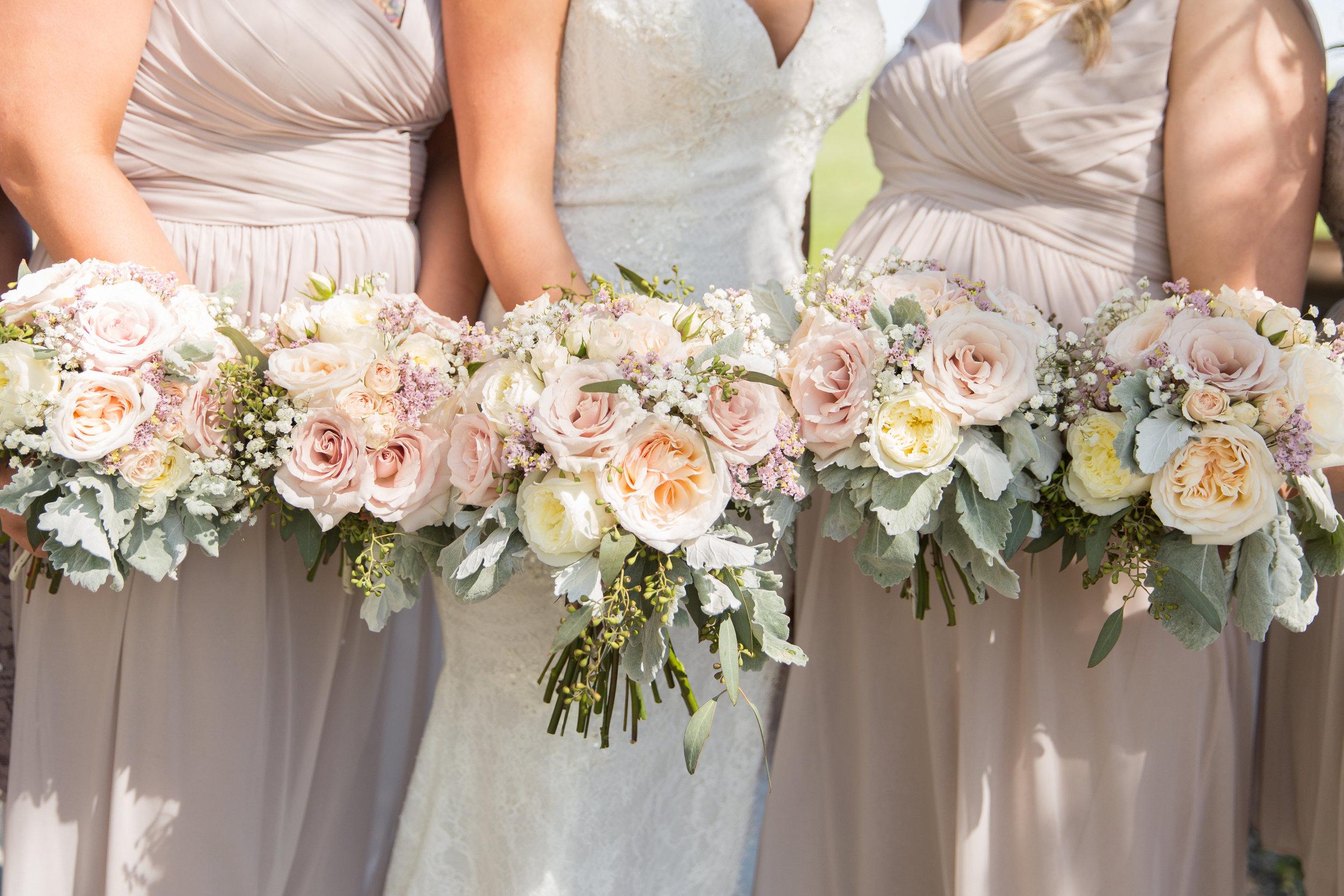 wedding bridesmaids bouquets in calgary alberta