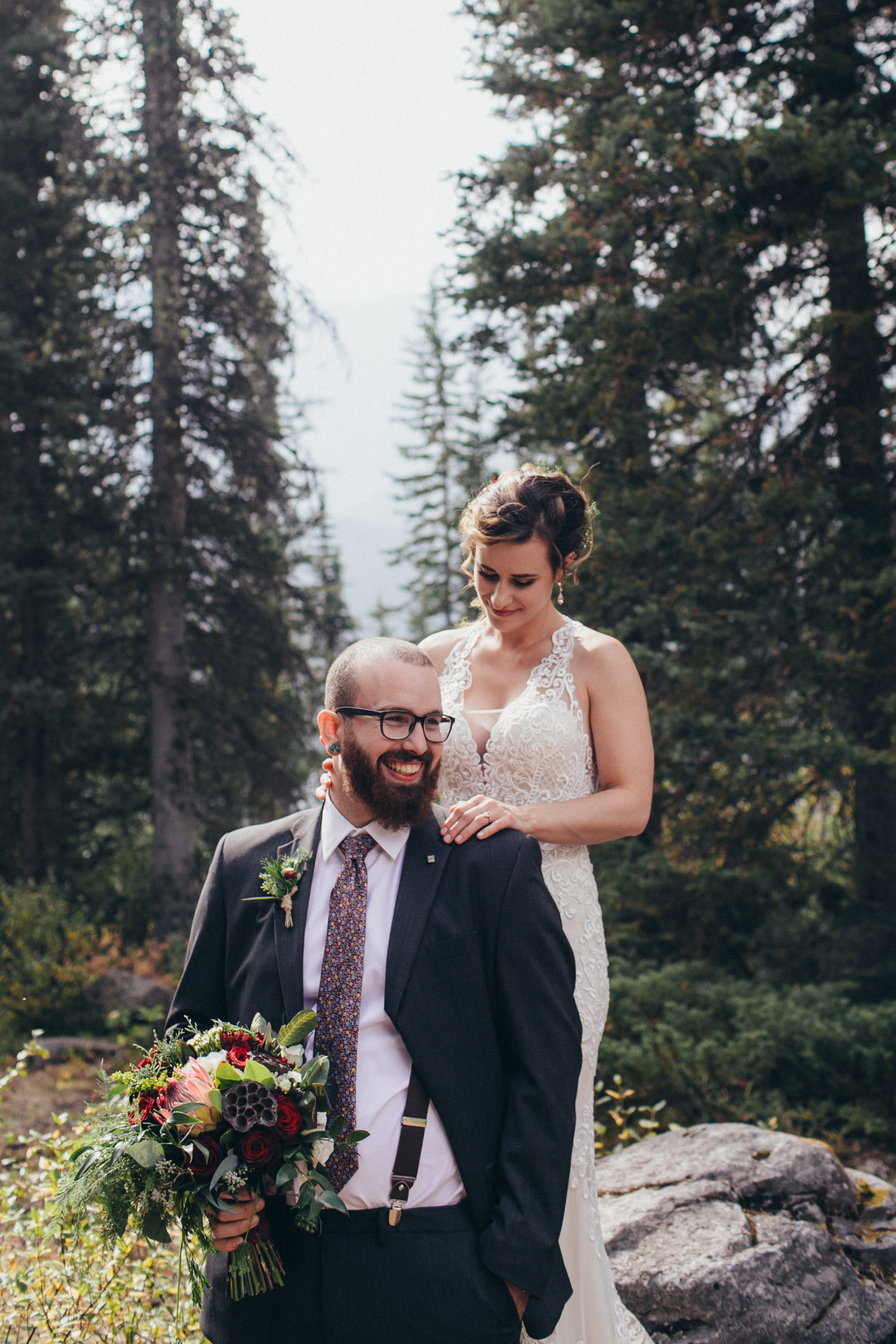 wedding bouquets and bridal flowers for banff wedding