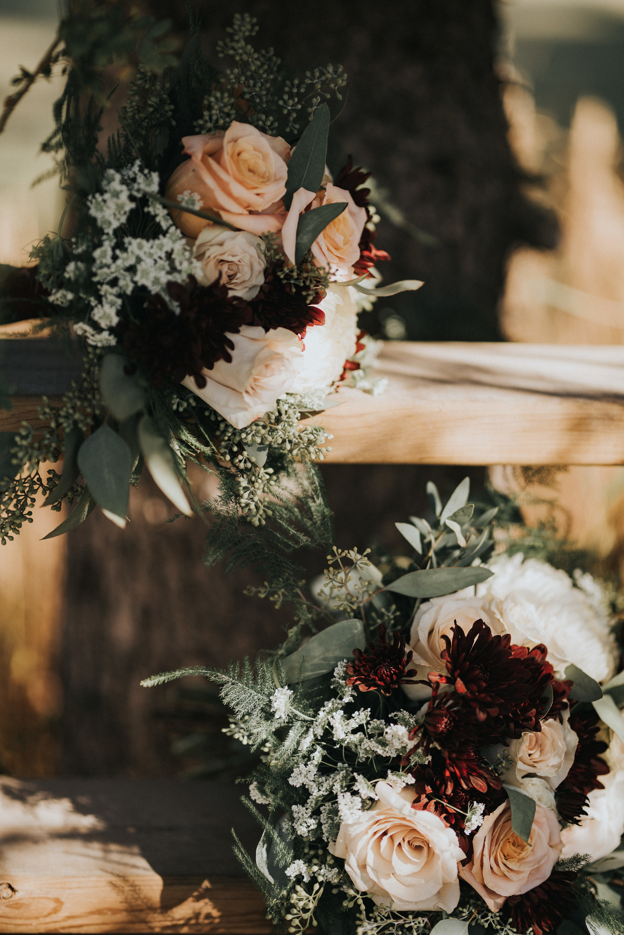bridesmaid bouquets and bridal bouquet wedding flowers that are rustic in alberta