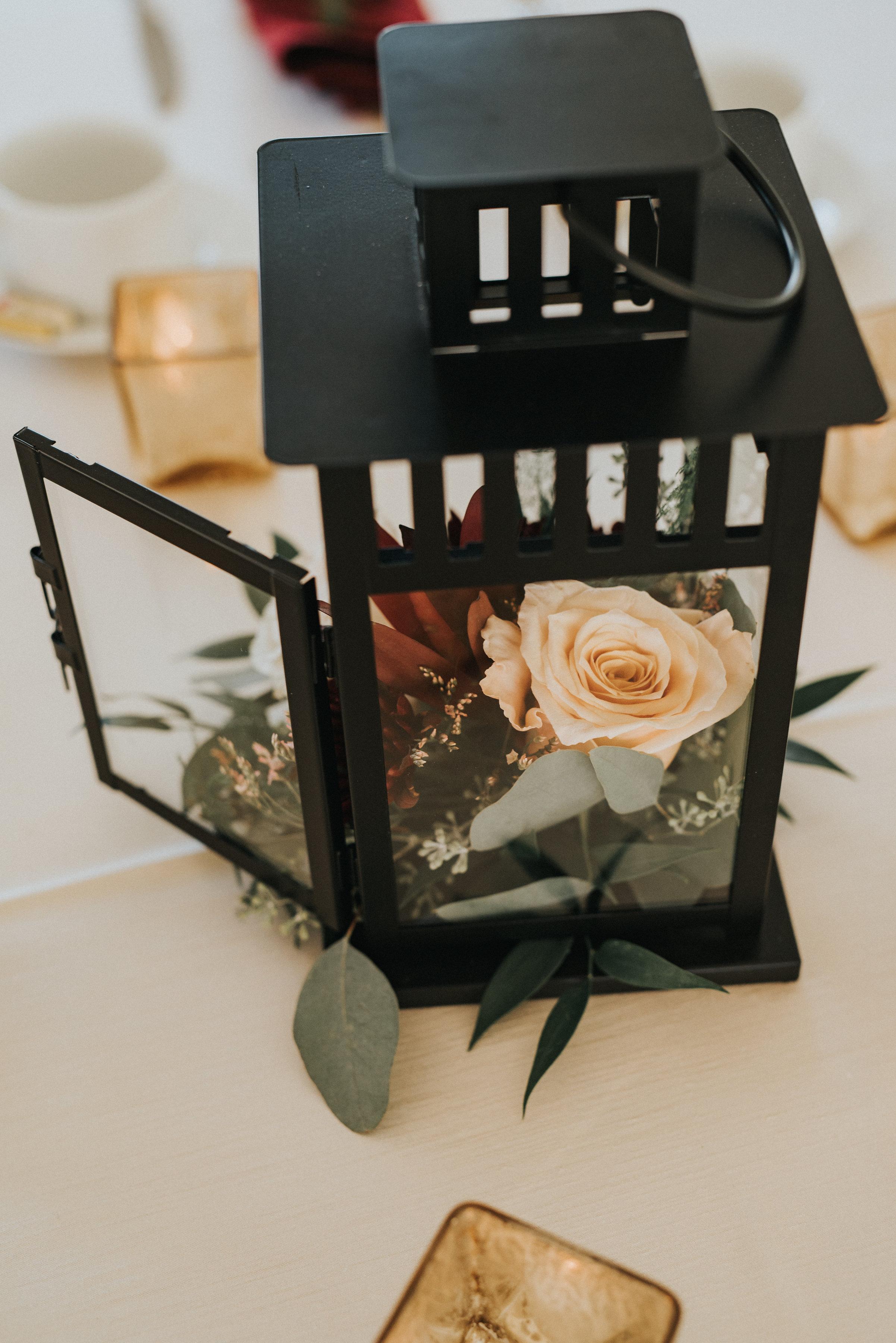 centrepiece rustic wedding flowers in calgary alberta