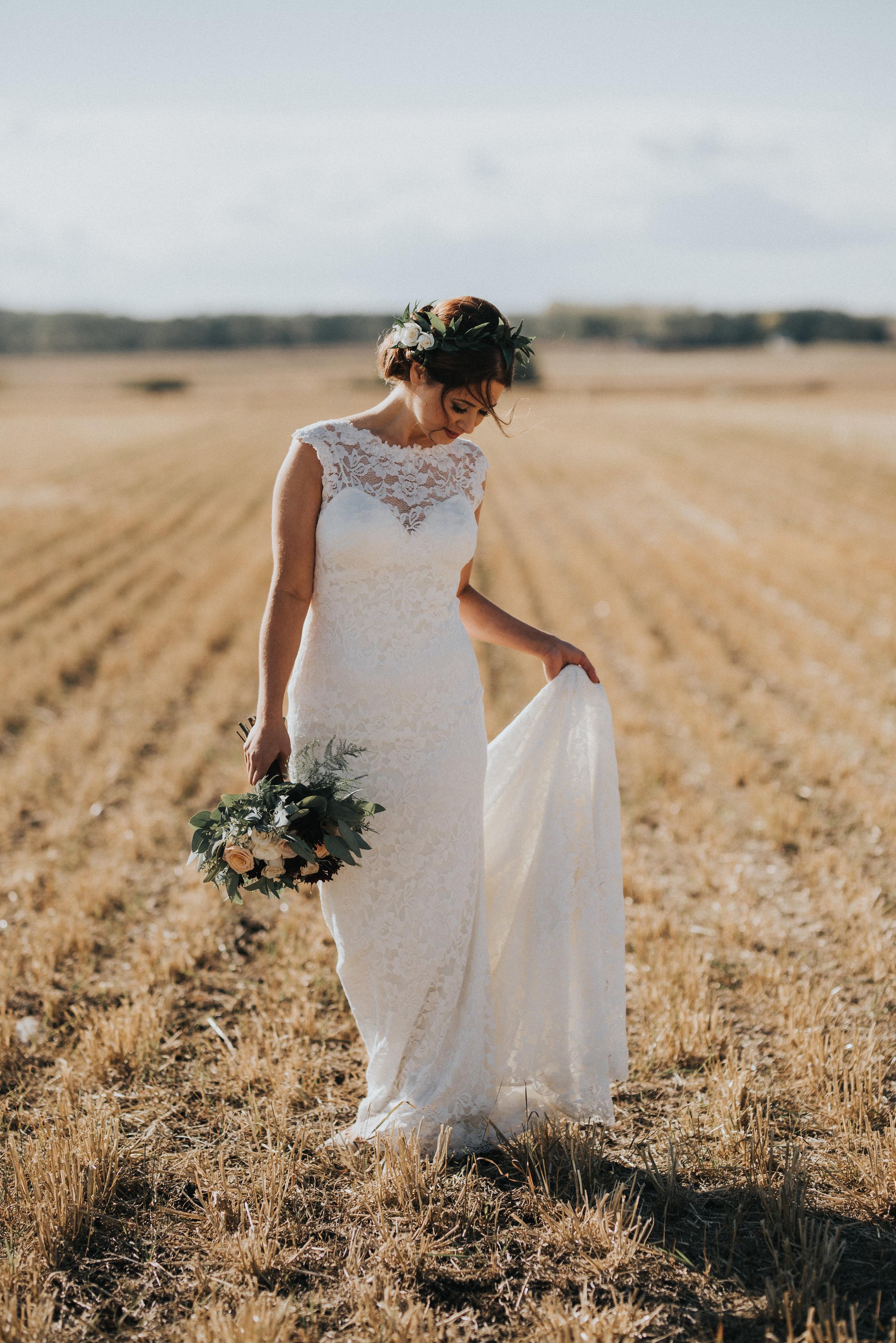 bridal flowers for weddings in calgary, alberta