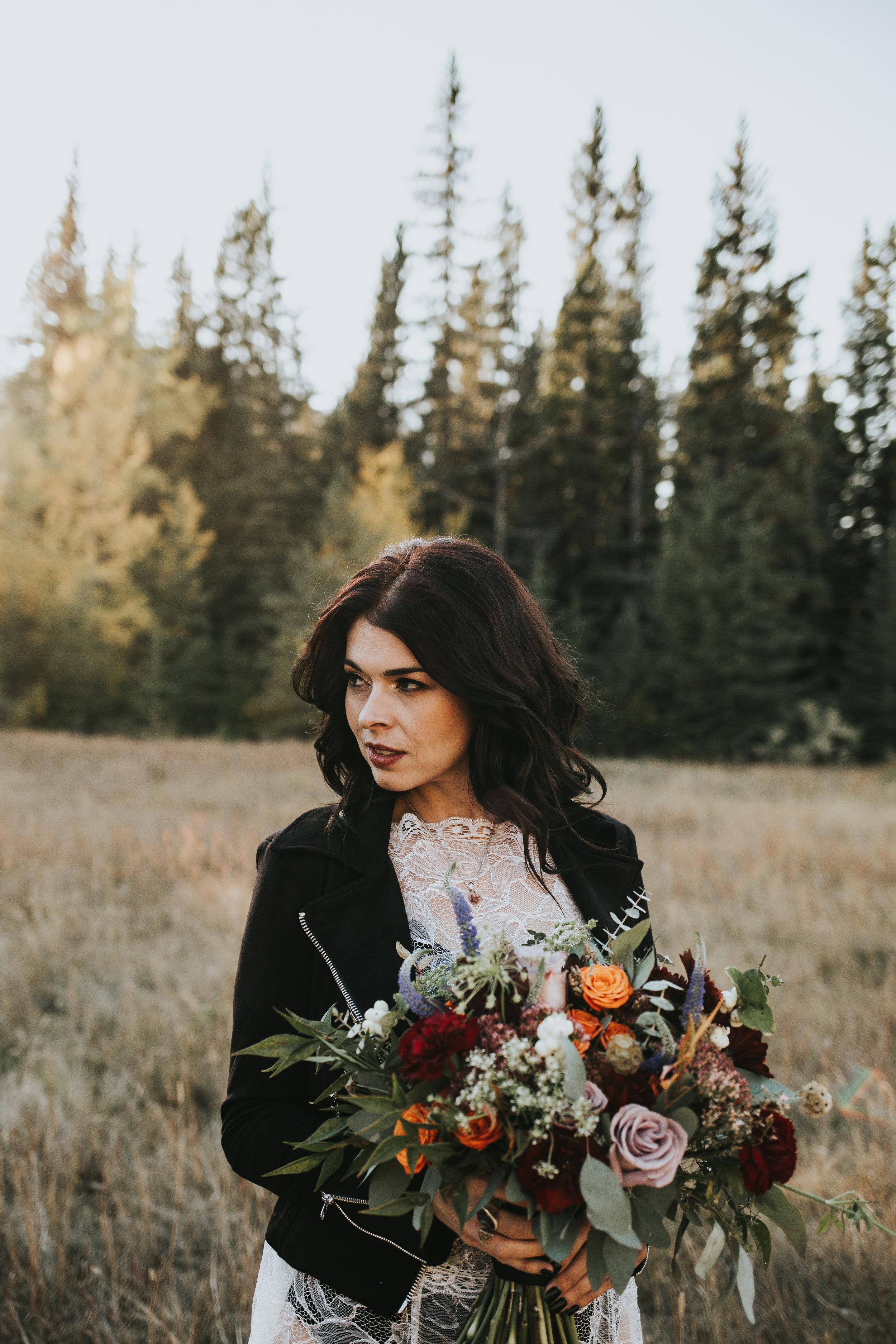 rustic wedding flowers in calgary, alberta